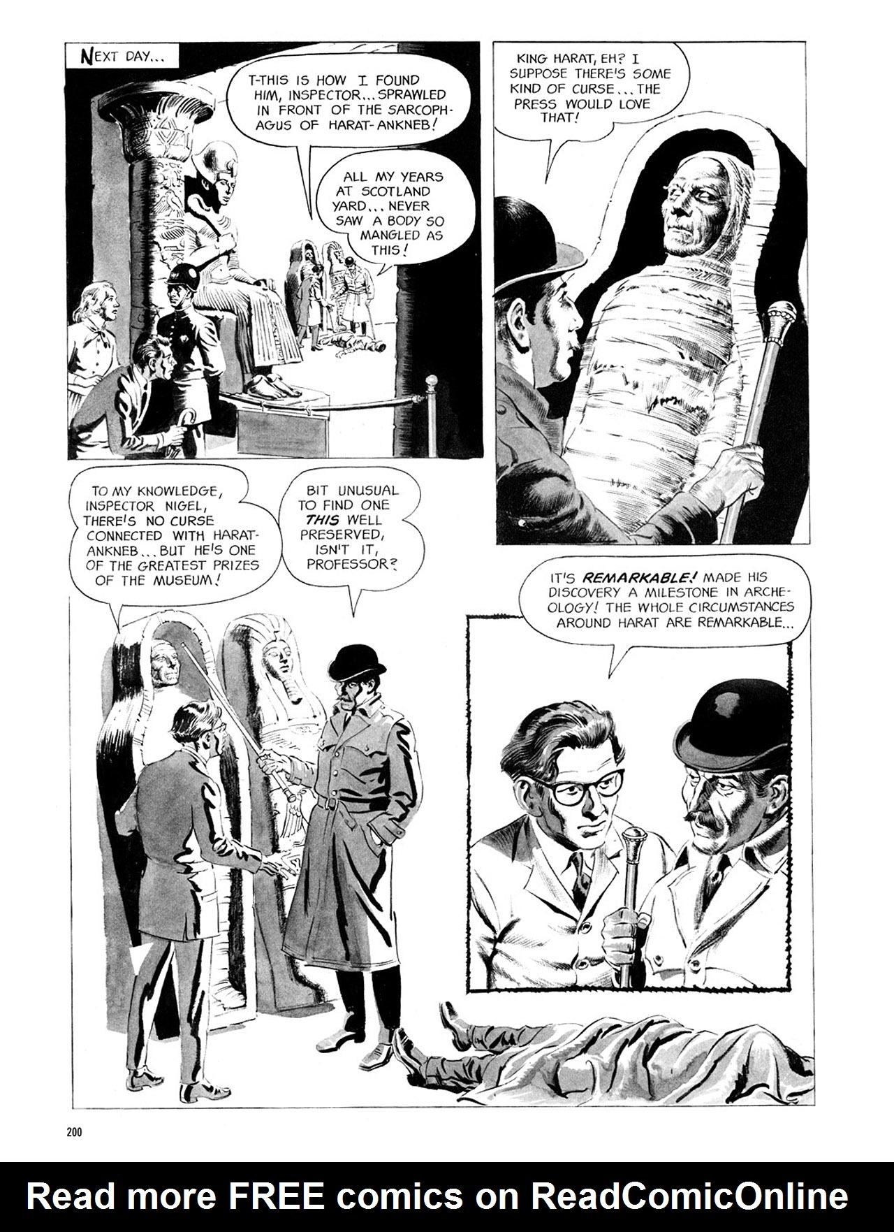 Read online Eerie Archives comic -  Issue # TPB 1 - 201