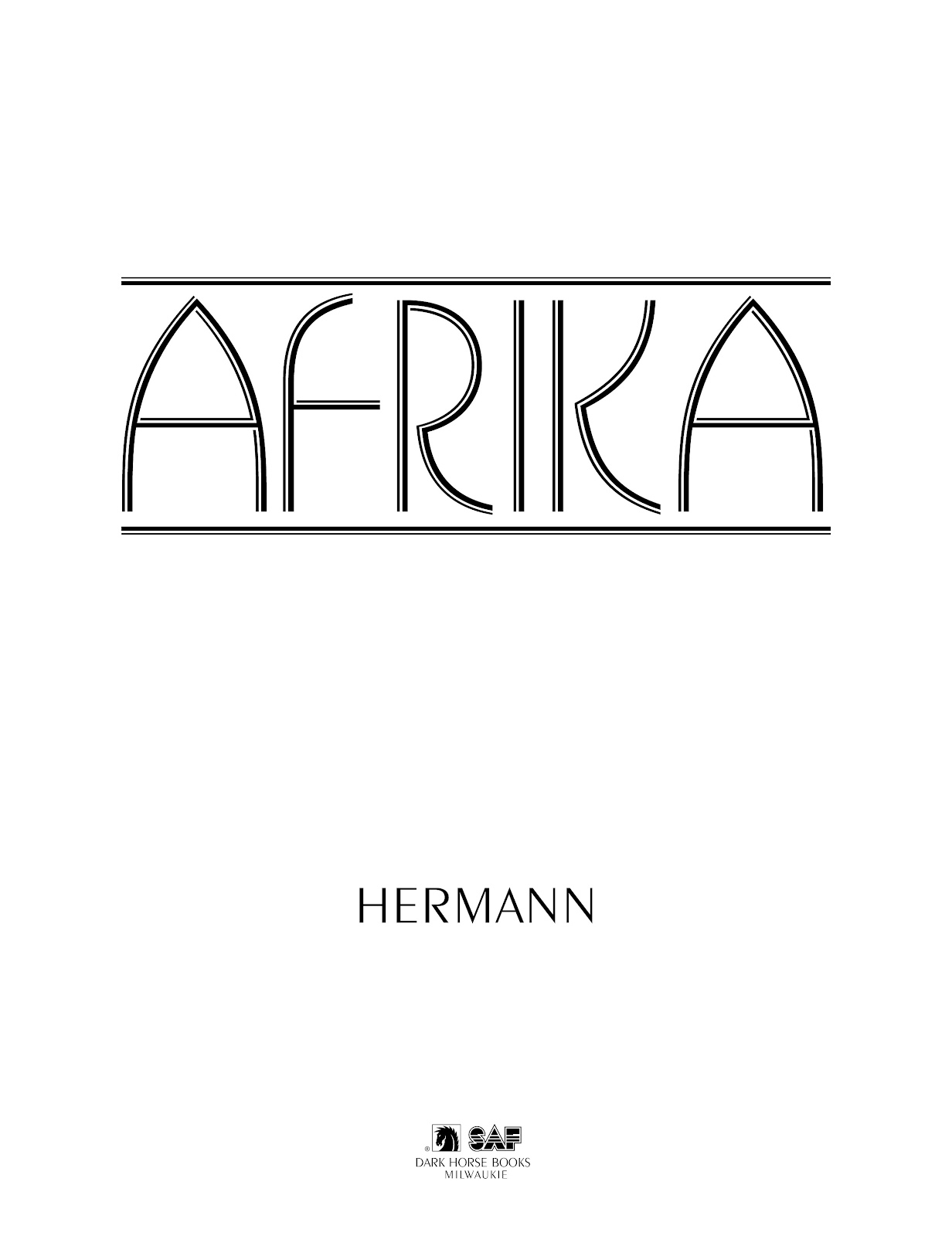 Read online Afrika comic -  Issue # TPB - 3