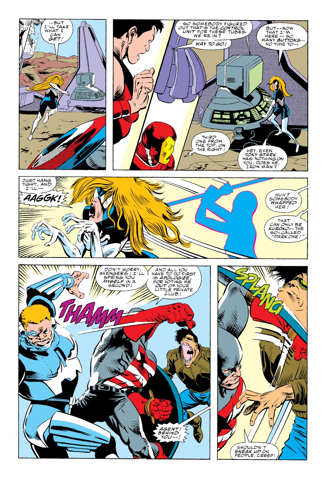 Avengers West Coast (1989) issue 74 - Page 7