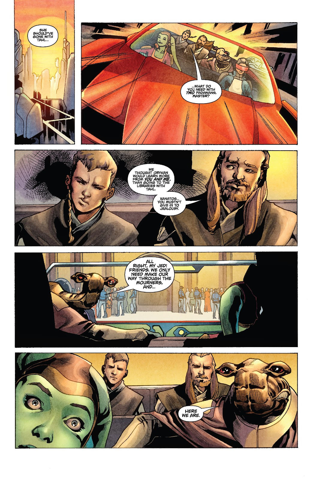 Read online Star Wars Legends: Rise of the Sith - Epic Collection comic -  Issue # TPB 1 (Part 2) - 16