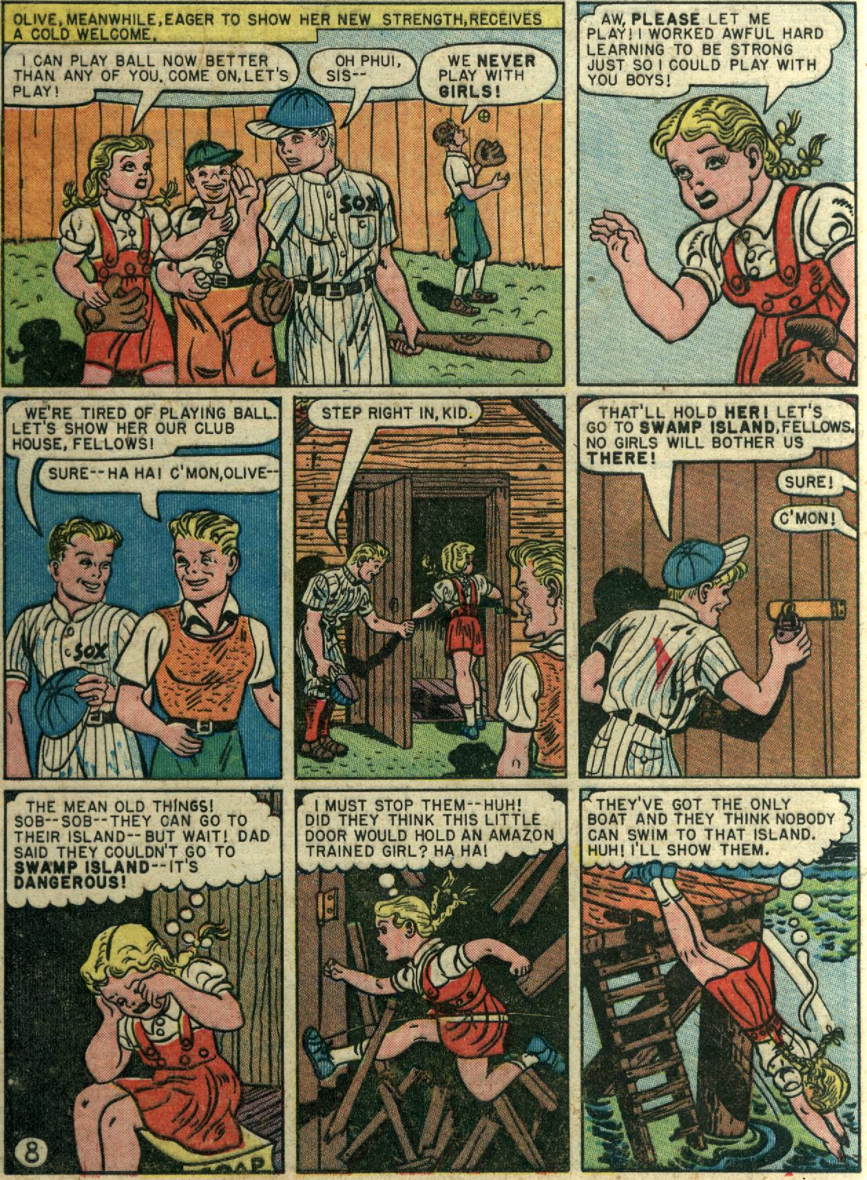 Read online Sensation (Mystery) Comics comic -  Issue #58 - 10