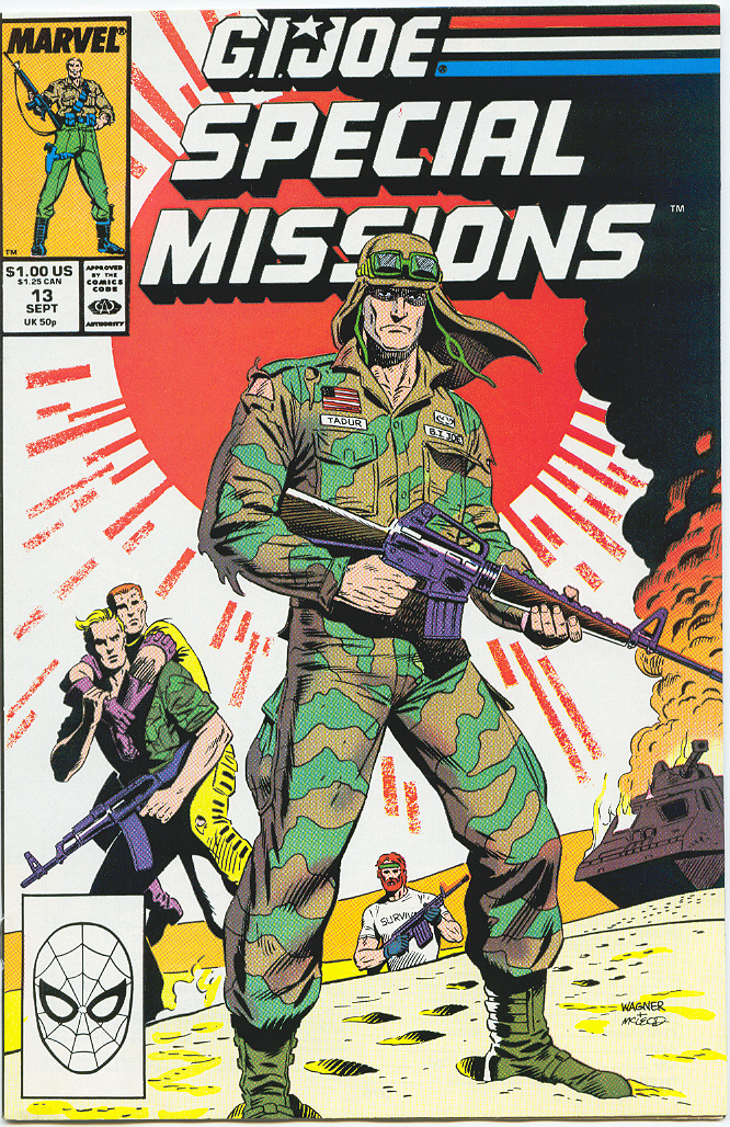 G.I. Joe Special Missions 13 Page 1