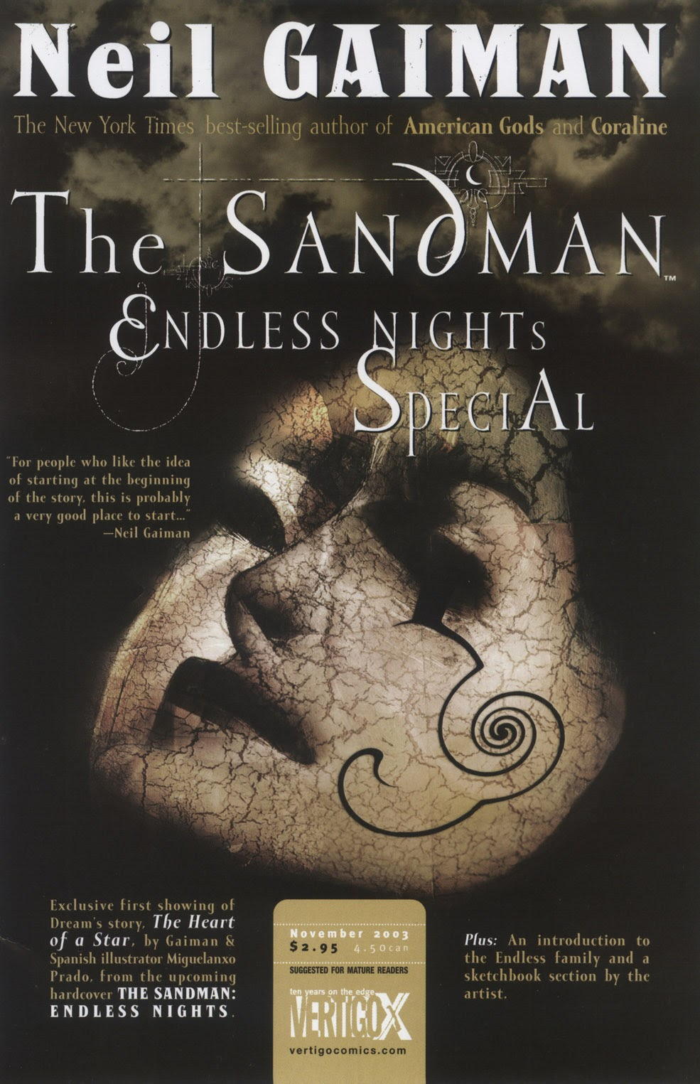 Read online The Sandman: Endless Nights comic -  Issue # _Special - 1