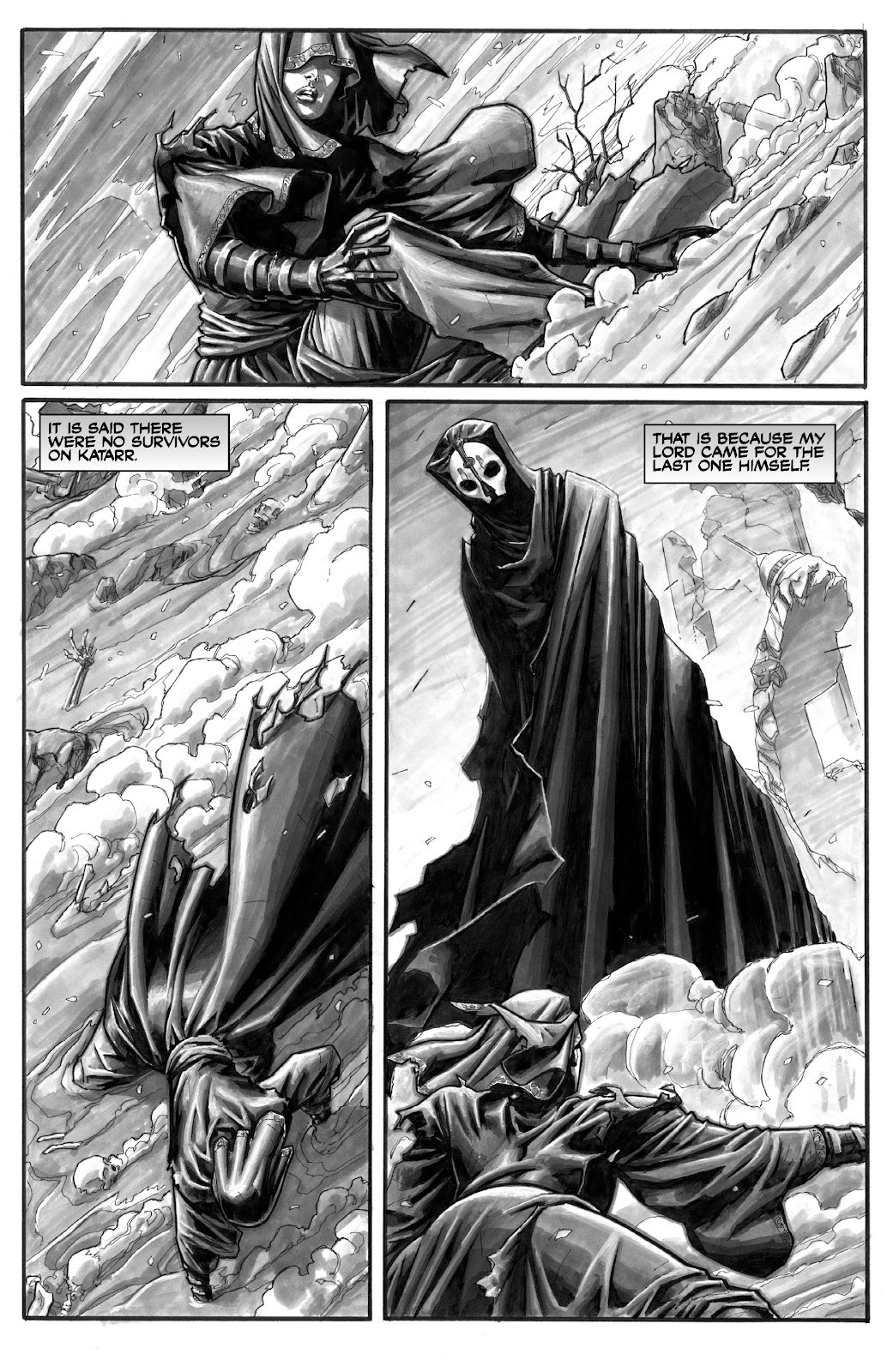 Read online Star Wars Legends: The Old Republic - Epic Collection comic -  Issue # TPB 3 (Part 5) - 22