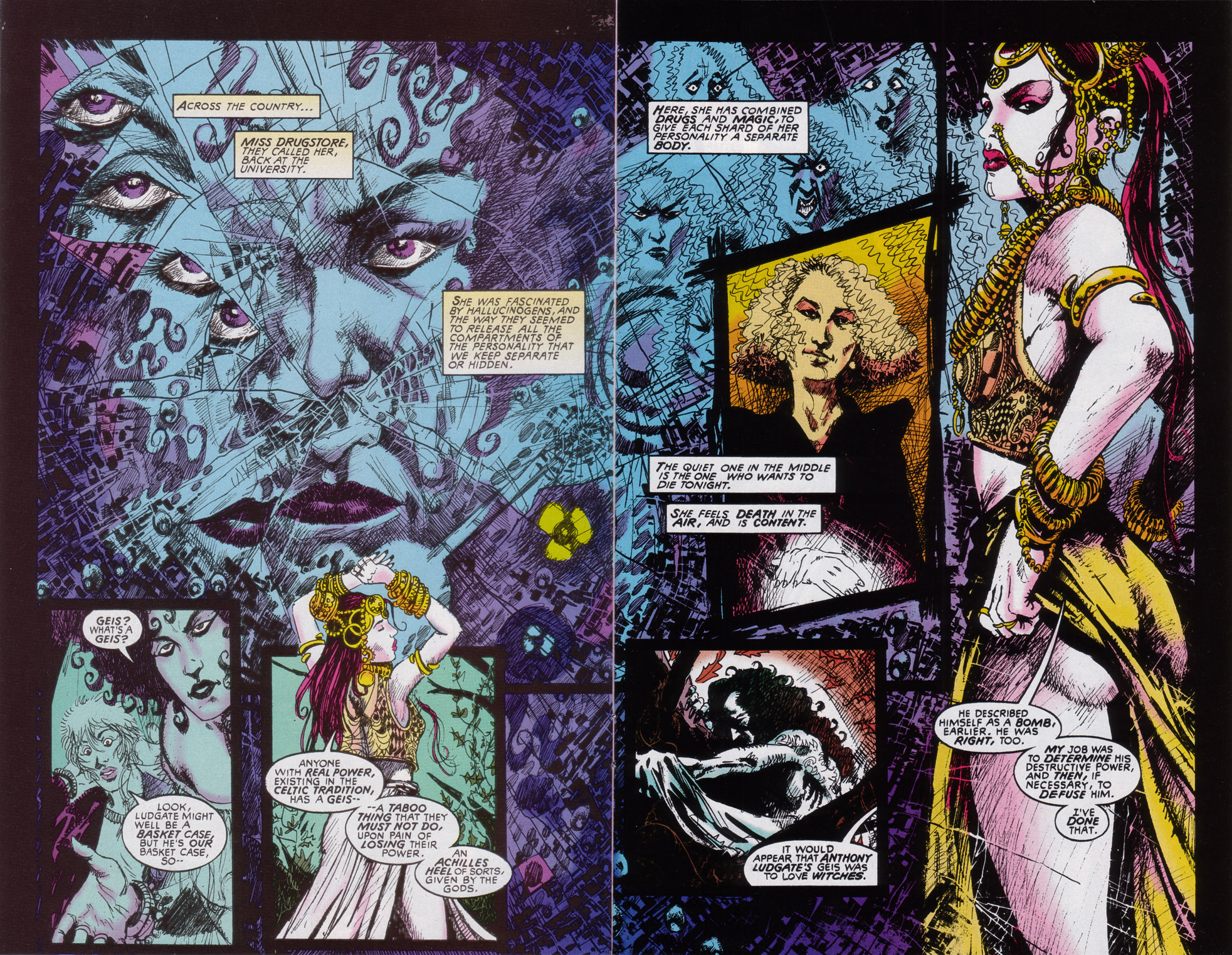 Read online Druid comic -  Issue #4 - 5
