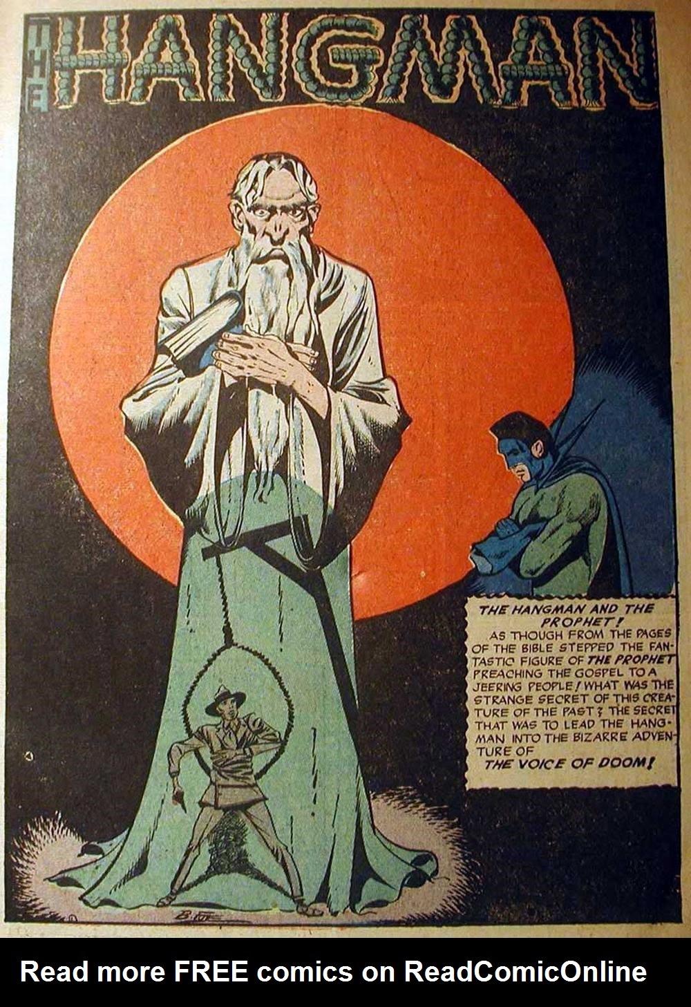 Hangman Comics issue 5 - Page 3