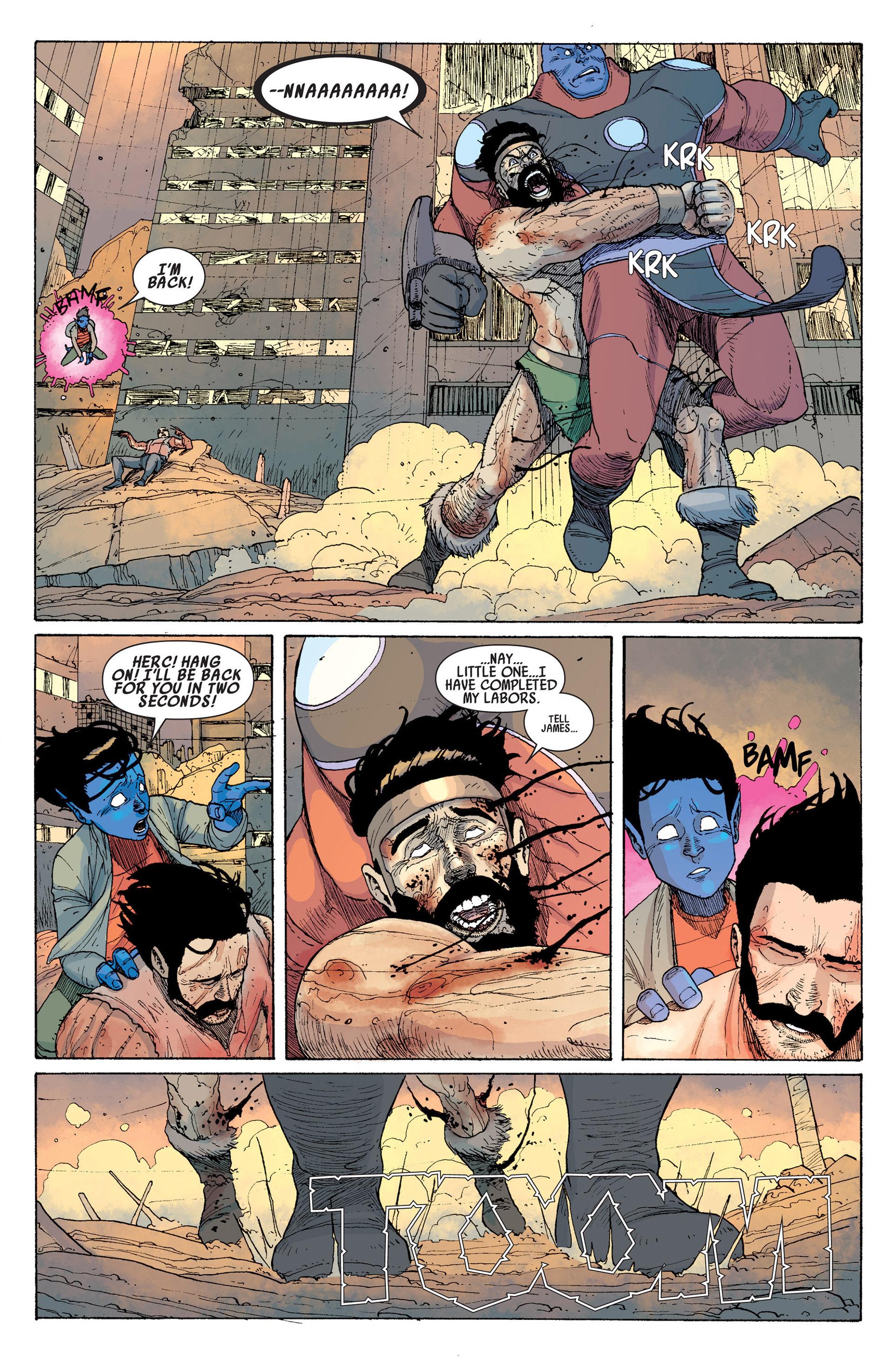 Read online Age of Apocalypse (2012) comic -  Issue #14 - 12