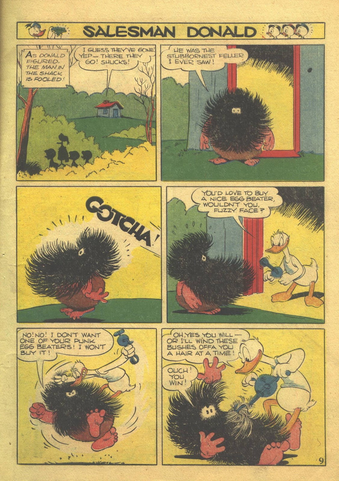 Walt Disney's Comics and Stories issue 39 - Page 11