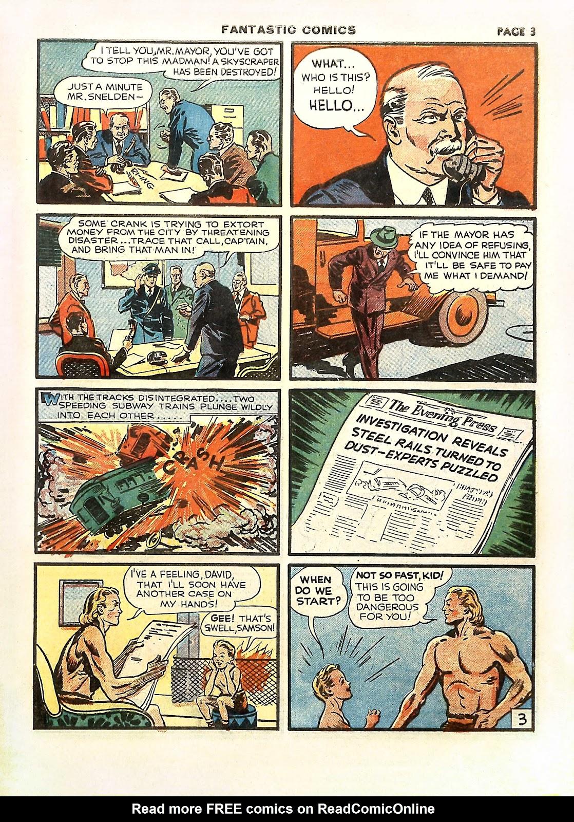 Read online Fantastic Comics comic -  Issue #11 - 6