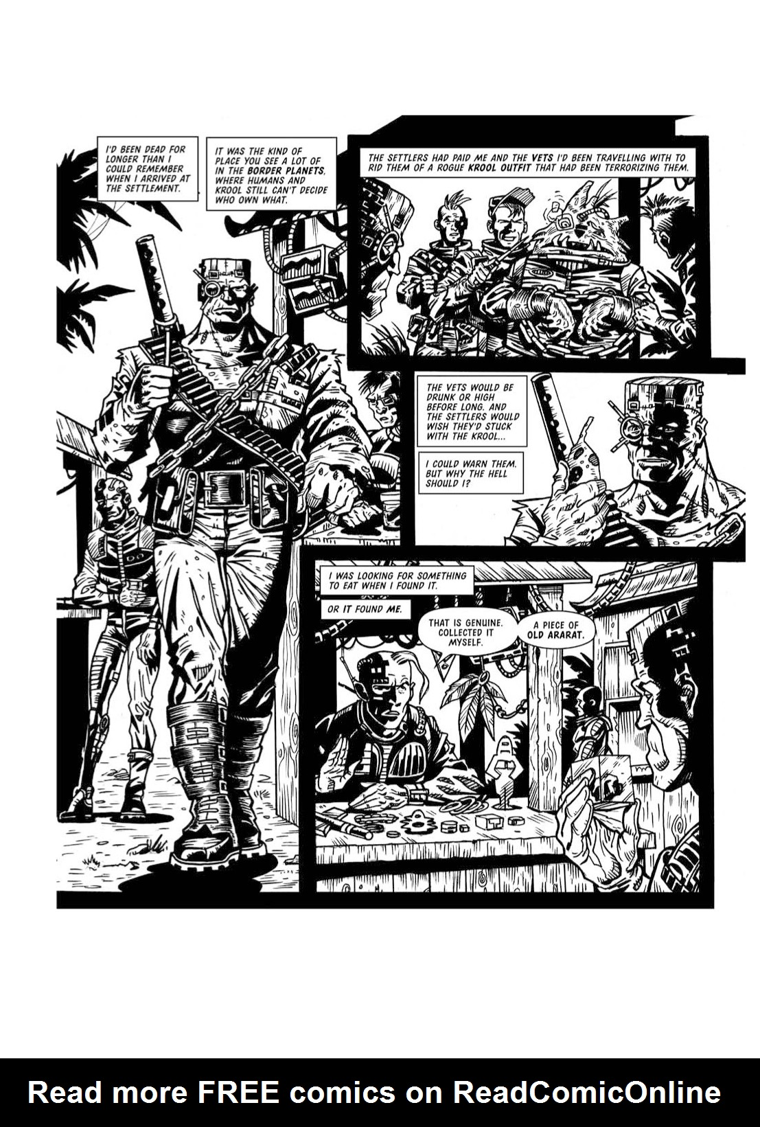Read online The Complete Bad Company comic -  Issue # TPB - 324