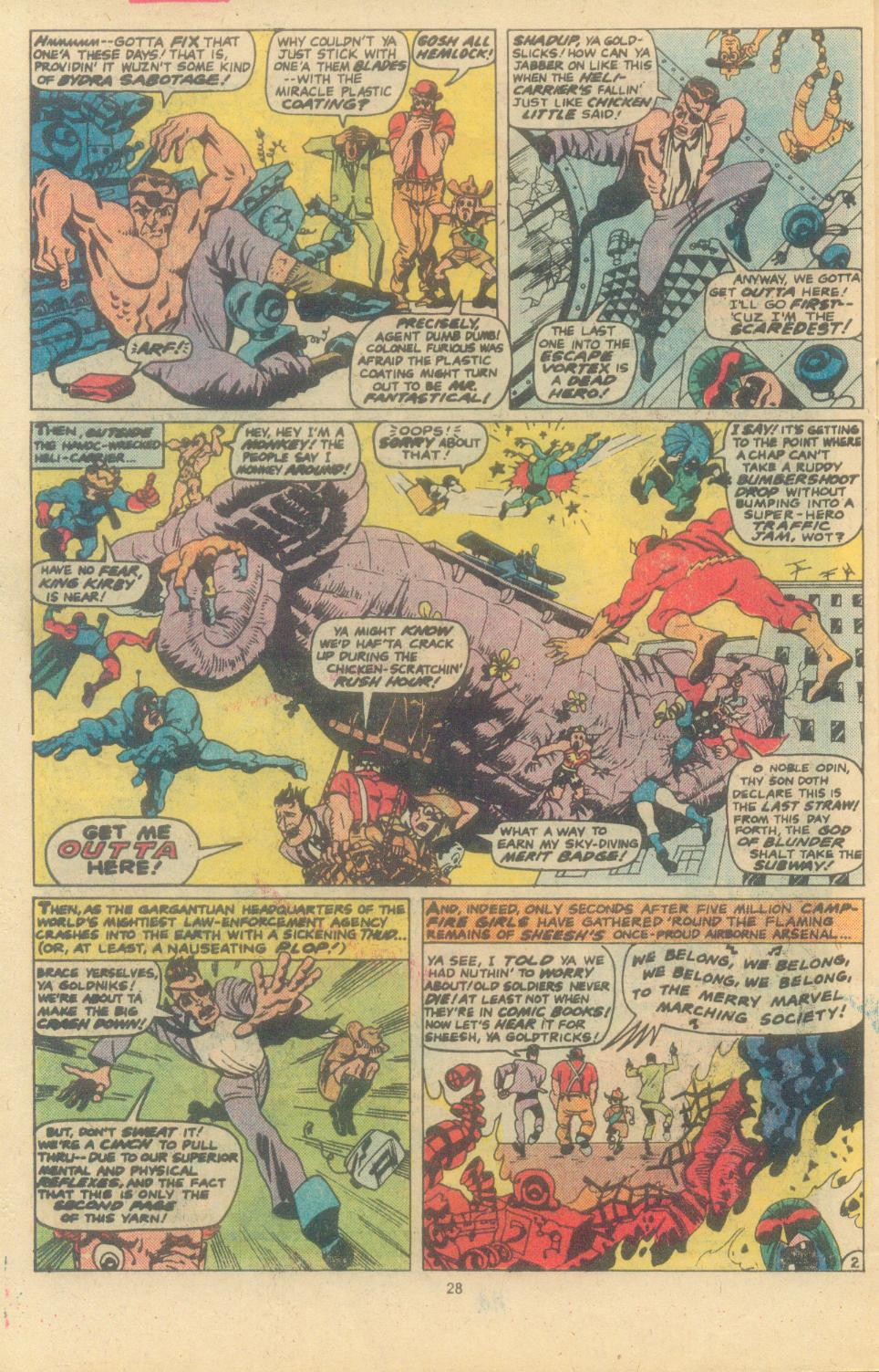 Read online Sgt. Fury comic -  Issue #163 - 30
