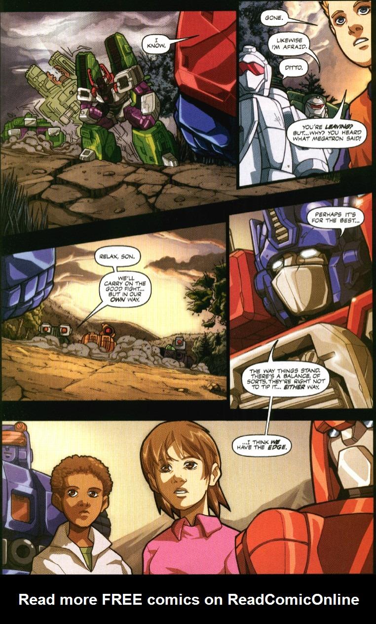 Read online Transformers Armada comic -  Issue #7 - 25