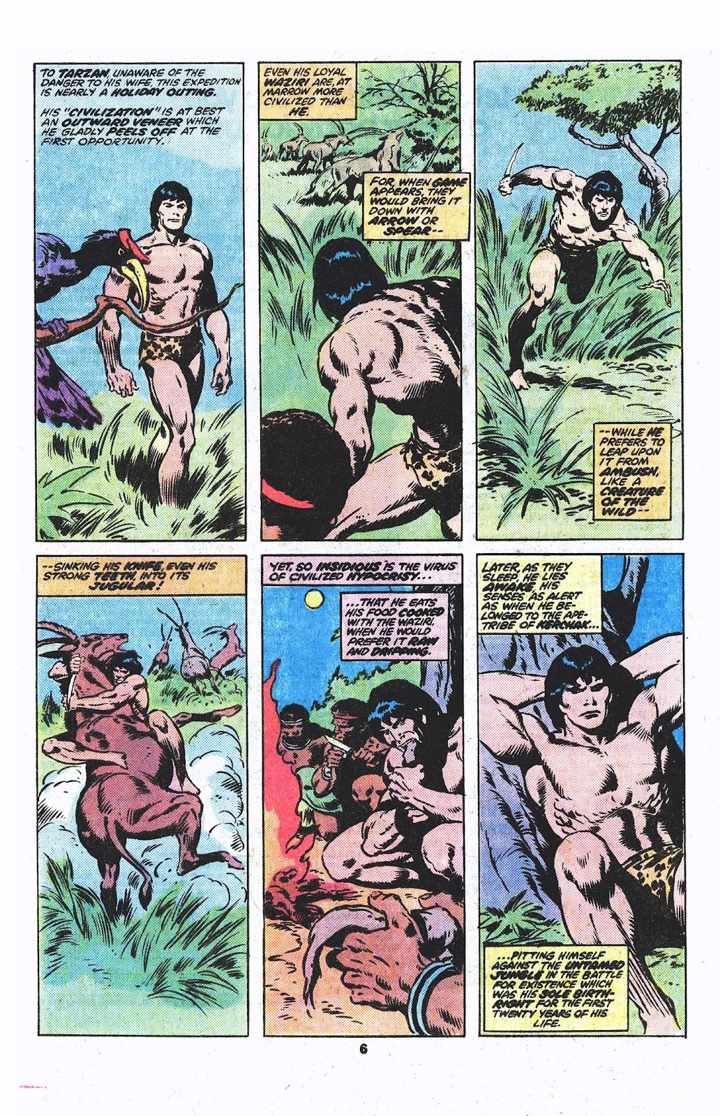Tarzan (1977) issue 3 - Page 5