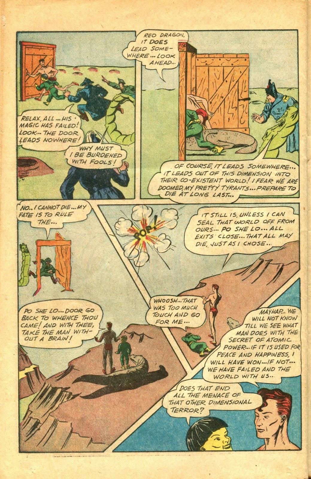Read online Super-Magician Comics comic -  Issue #48 - 34