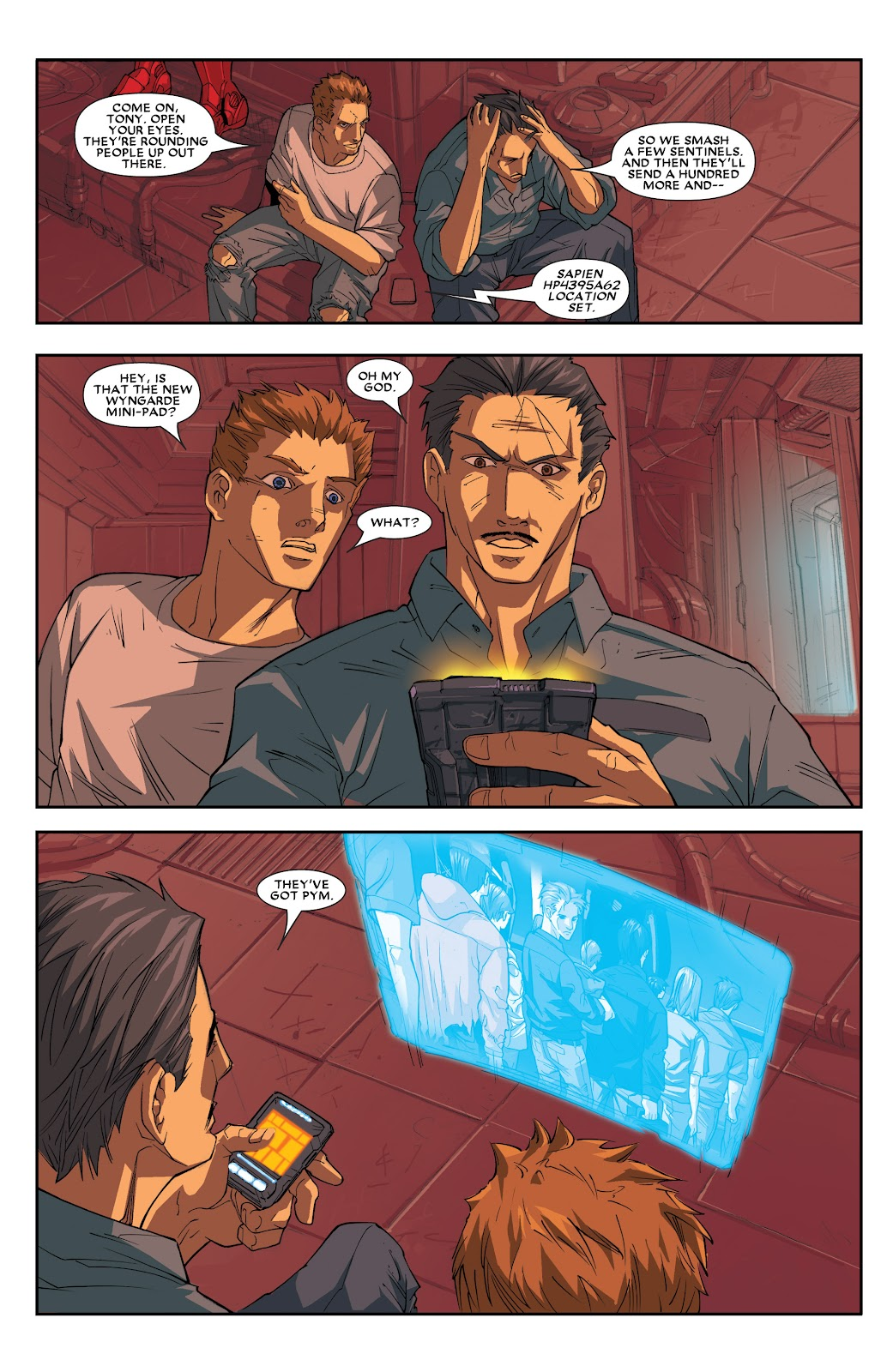 Iron Man: House of M Issue #2 #2 - English 16