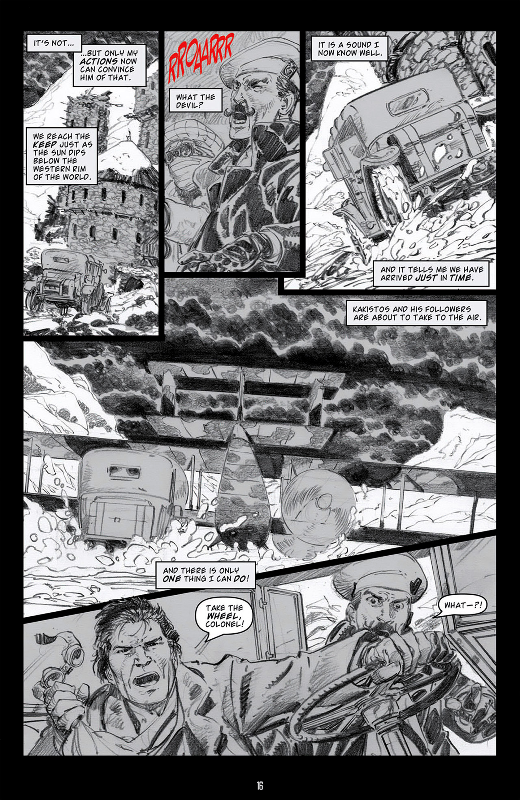 Read online Angel: Blood & Trenches comic -  Issue #4 - 19