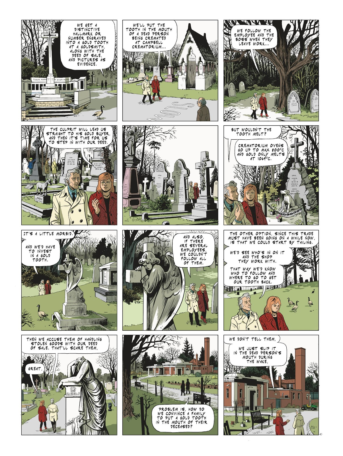 Read online Maggy Garrisson comic -  Issue #3 - 12