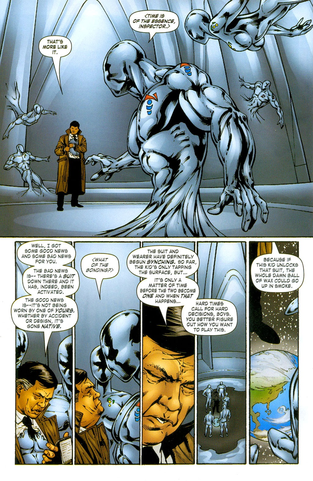 Read online ArmorX comic -  Issue #3 - 18
