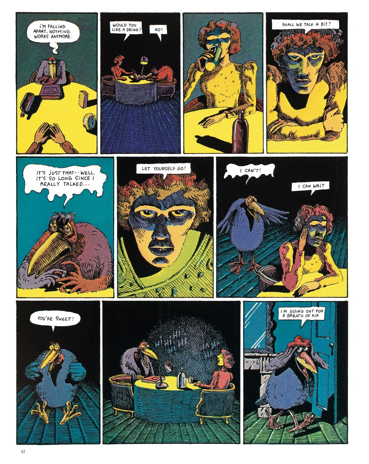 Read online The Green Hand and Other Stories comic -  Issue # TPB - 41