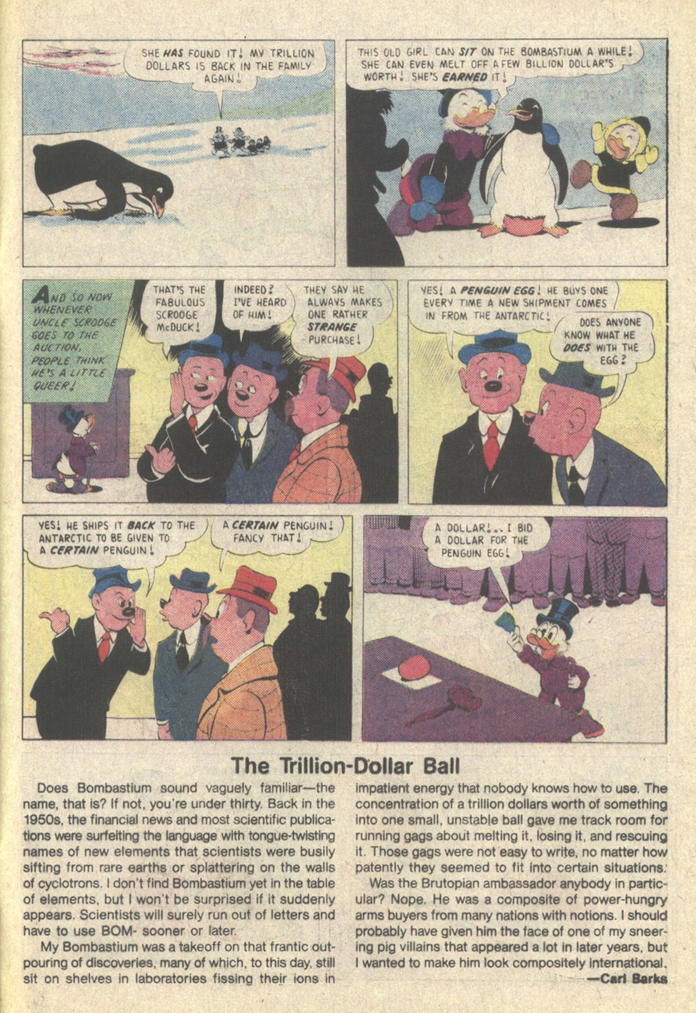 Read online Uncle Scrooge (1953) comic -  Issue #215 - 33