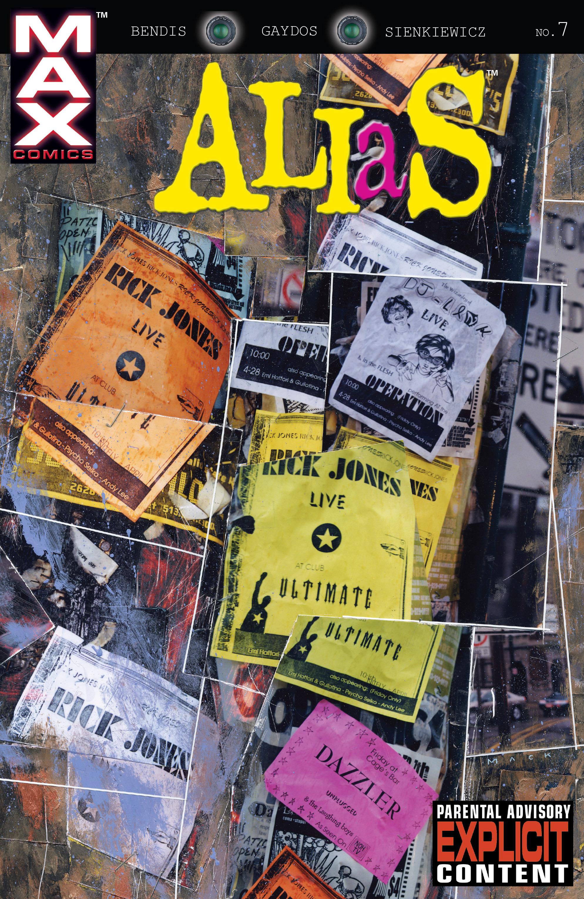 Read online Alias comic -  Issue #7 - 1