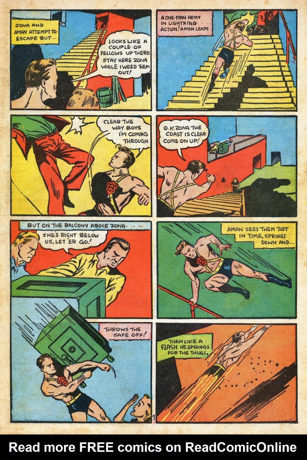 Read online Amazing Man Comics comic -  Issue #16 - 9