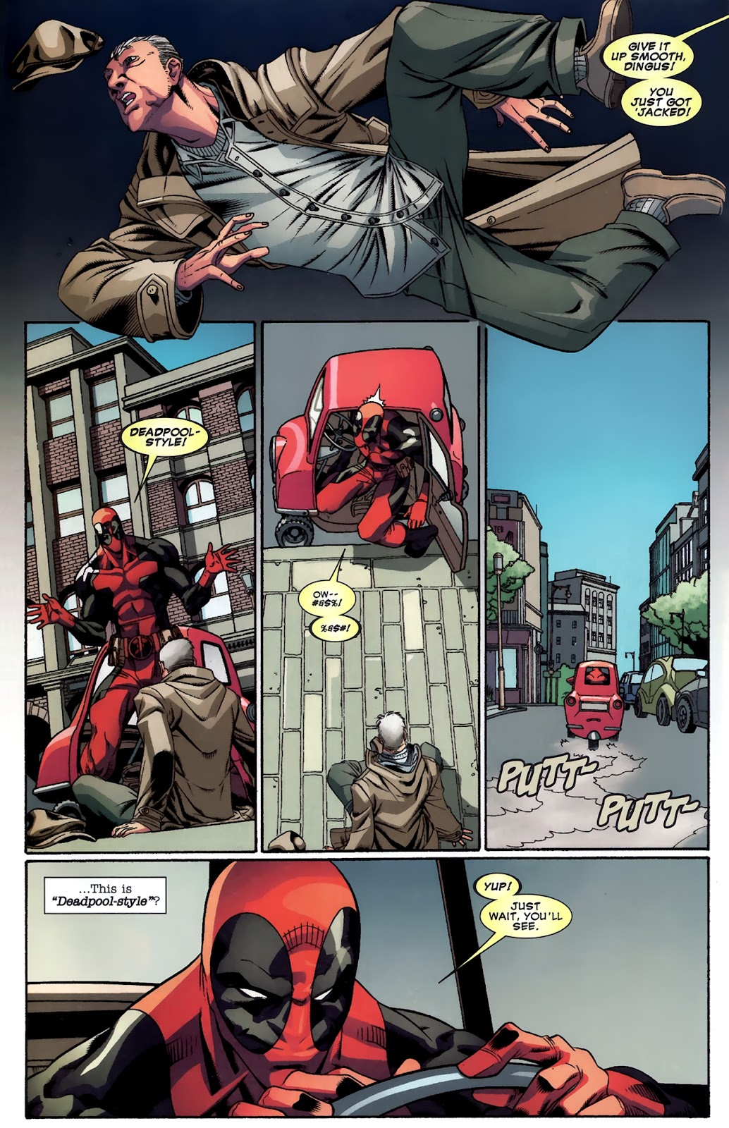 Read online Deadpool (2008) comic -  Issue #43 - 10