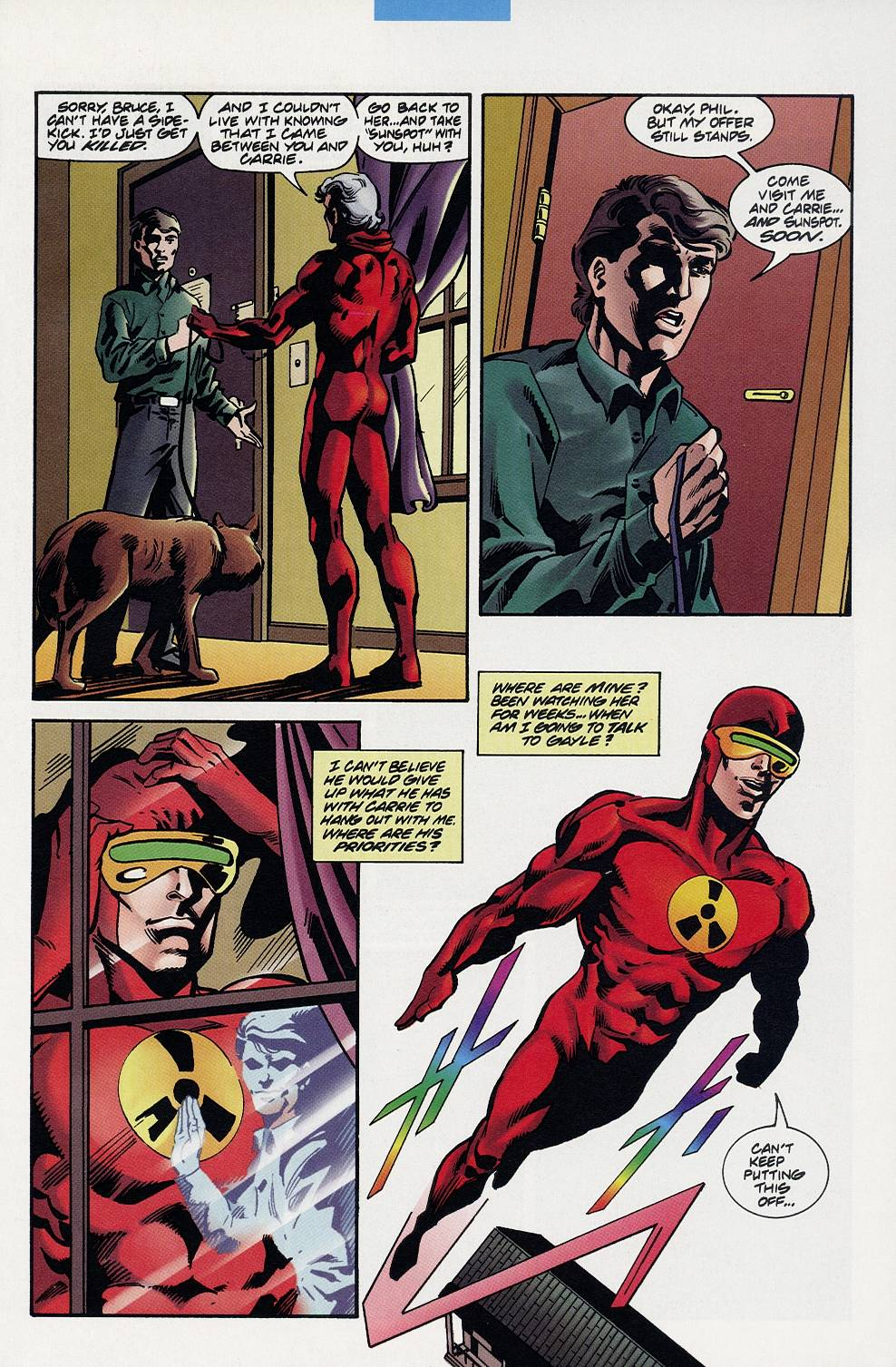 Read online Solar, Man of the Atom comic -  Issue #59 - 11