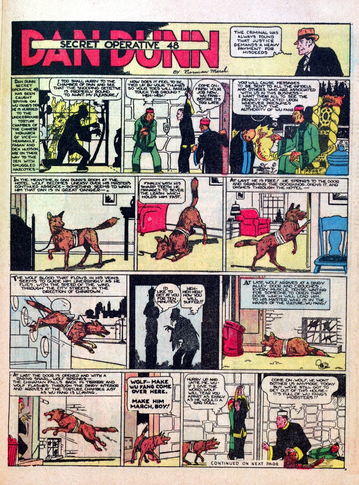 Read online Famous Funnies comic -  Issue #7 - 47
