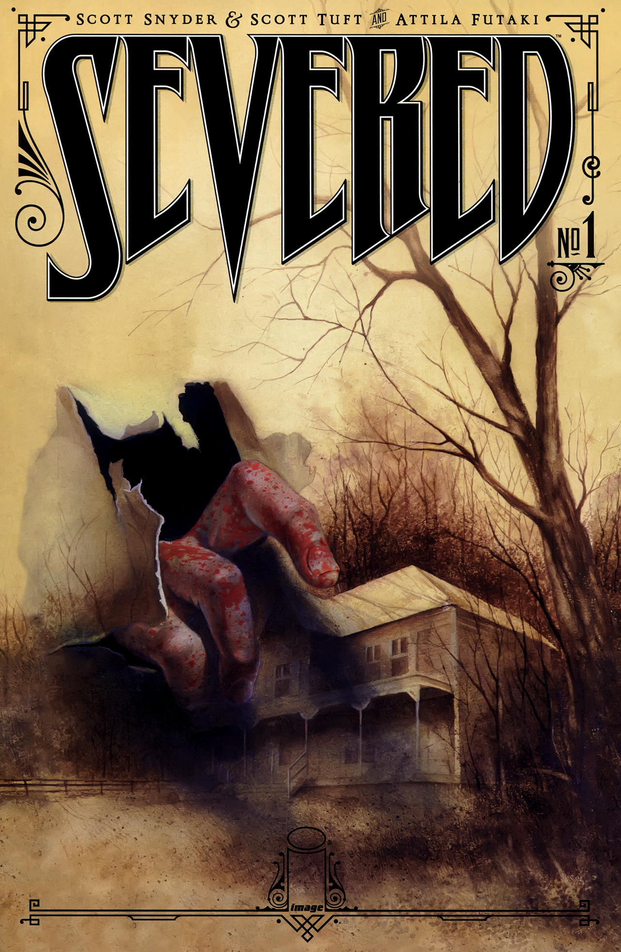 Read online Severed comic -  Issue #1 - 1