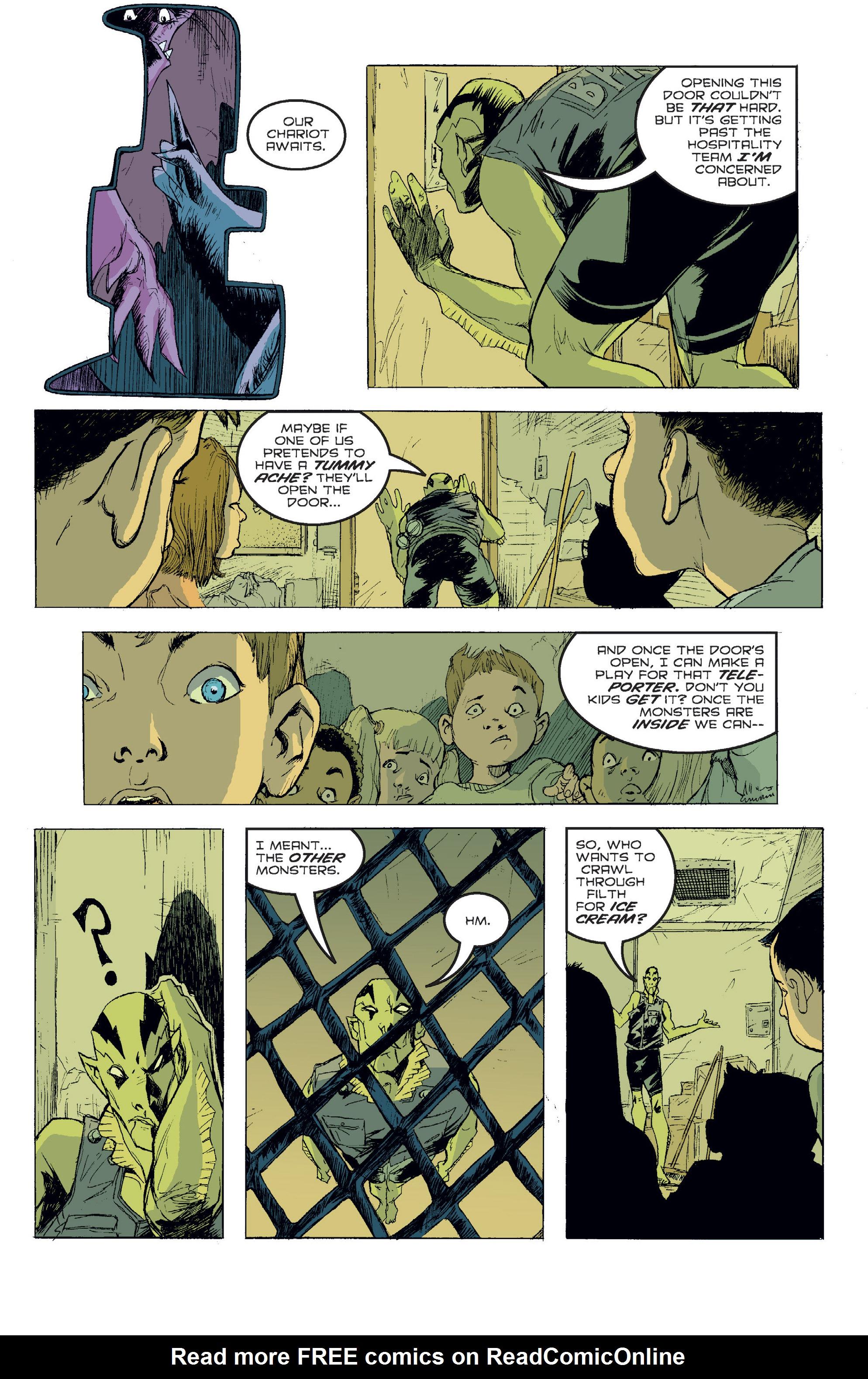 Read online B.P.R.D. (2003) comic -  Issue # TPB 2 - 96