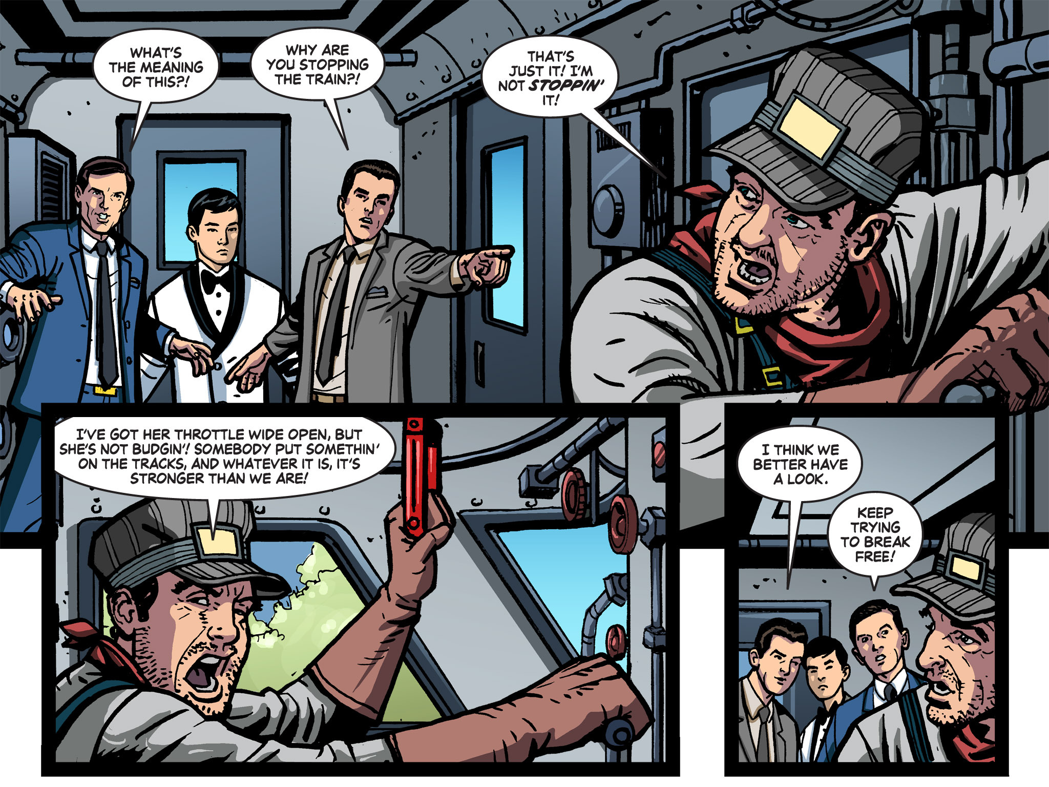 Read online Batman '66 Meets the Green Hornet [II] comic -  Issue #1 - 74
