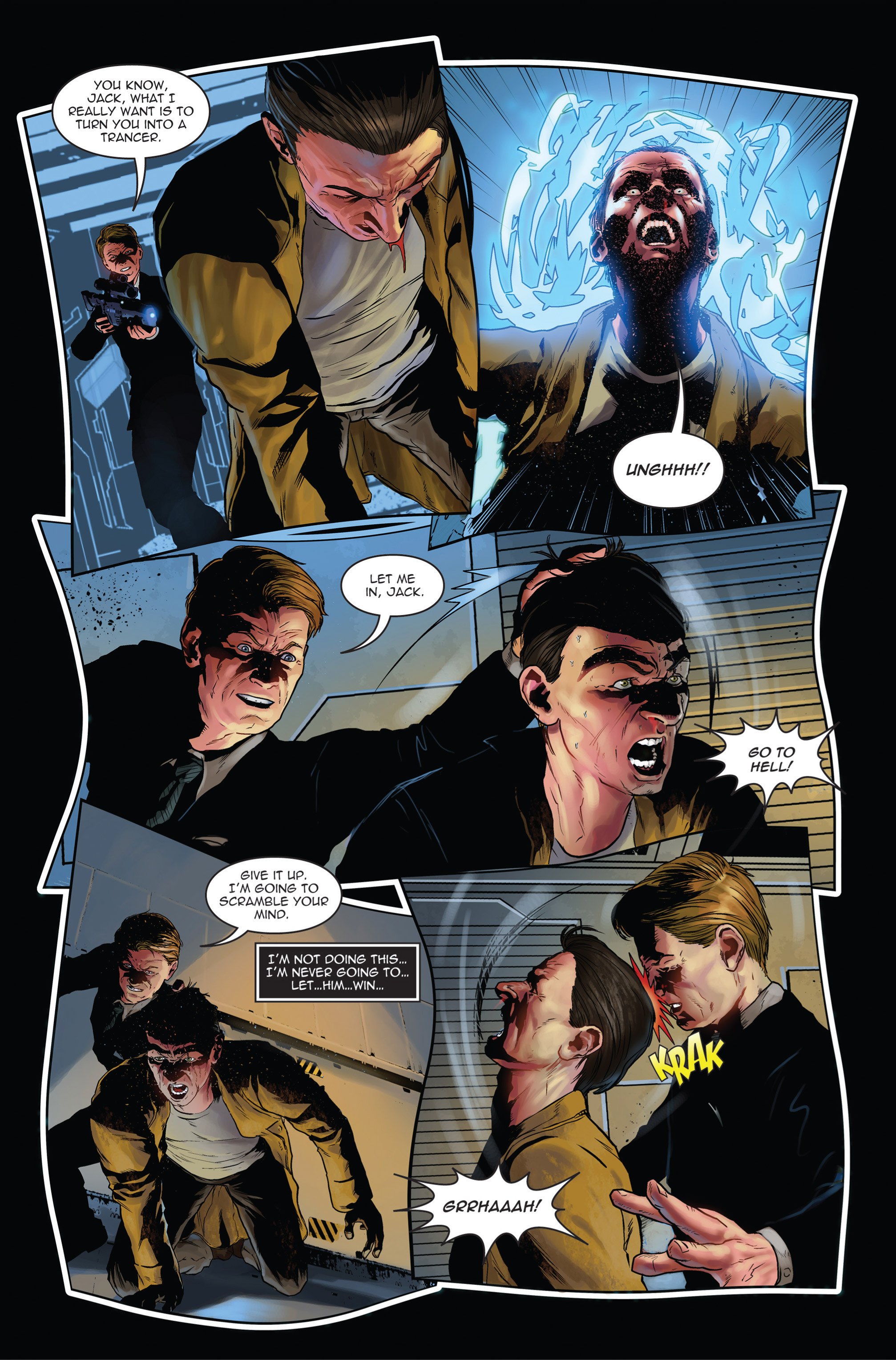Read online Trancers comic -  Issue #1 - 14