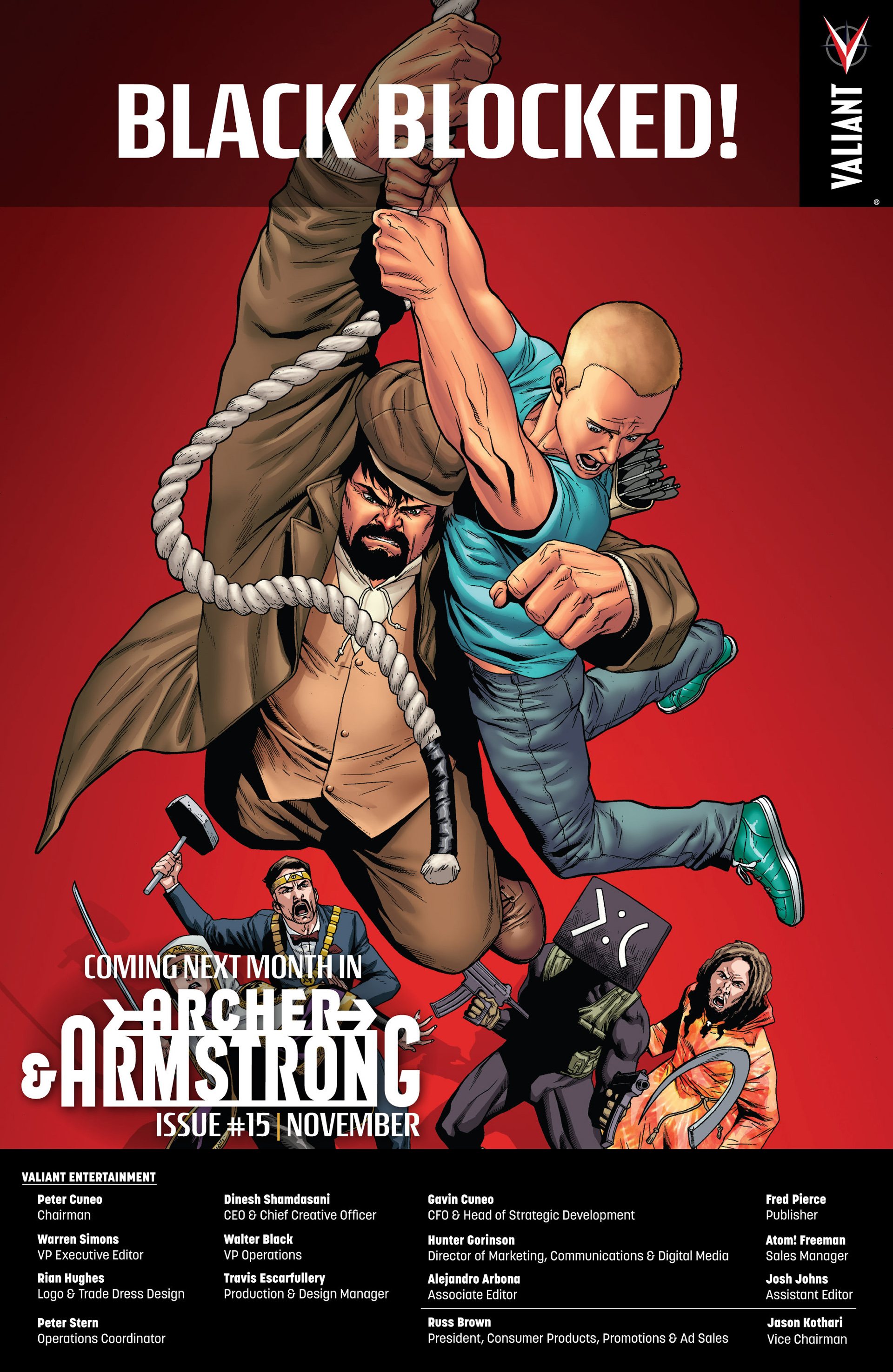 Read online Archer and Armstrong comic -  Issue #14 - 25