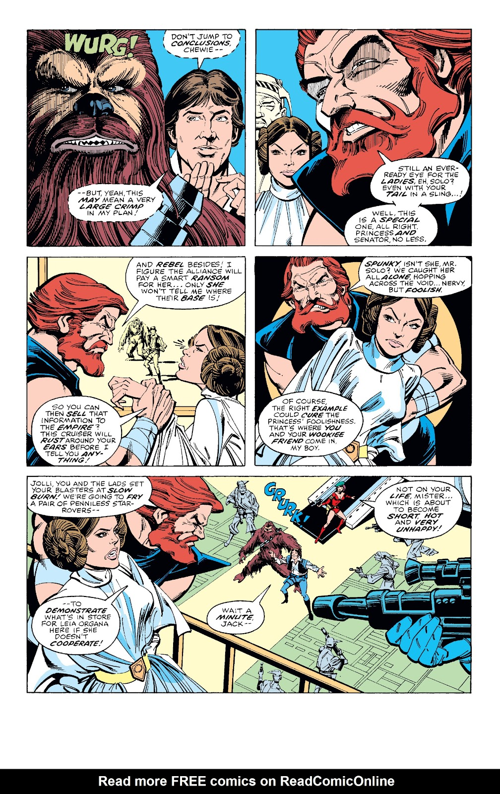 Read online Star Wars Legends: The Original Marvel Years - Epic Collection comic -  Issue # TPB 1 (Part 2) - 95