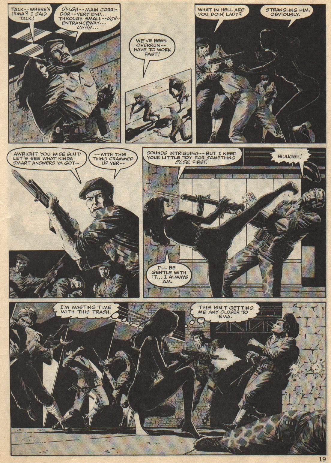 Bizarre Adventures (1981) issue 25 - Page 19