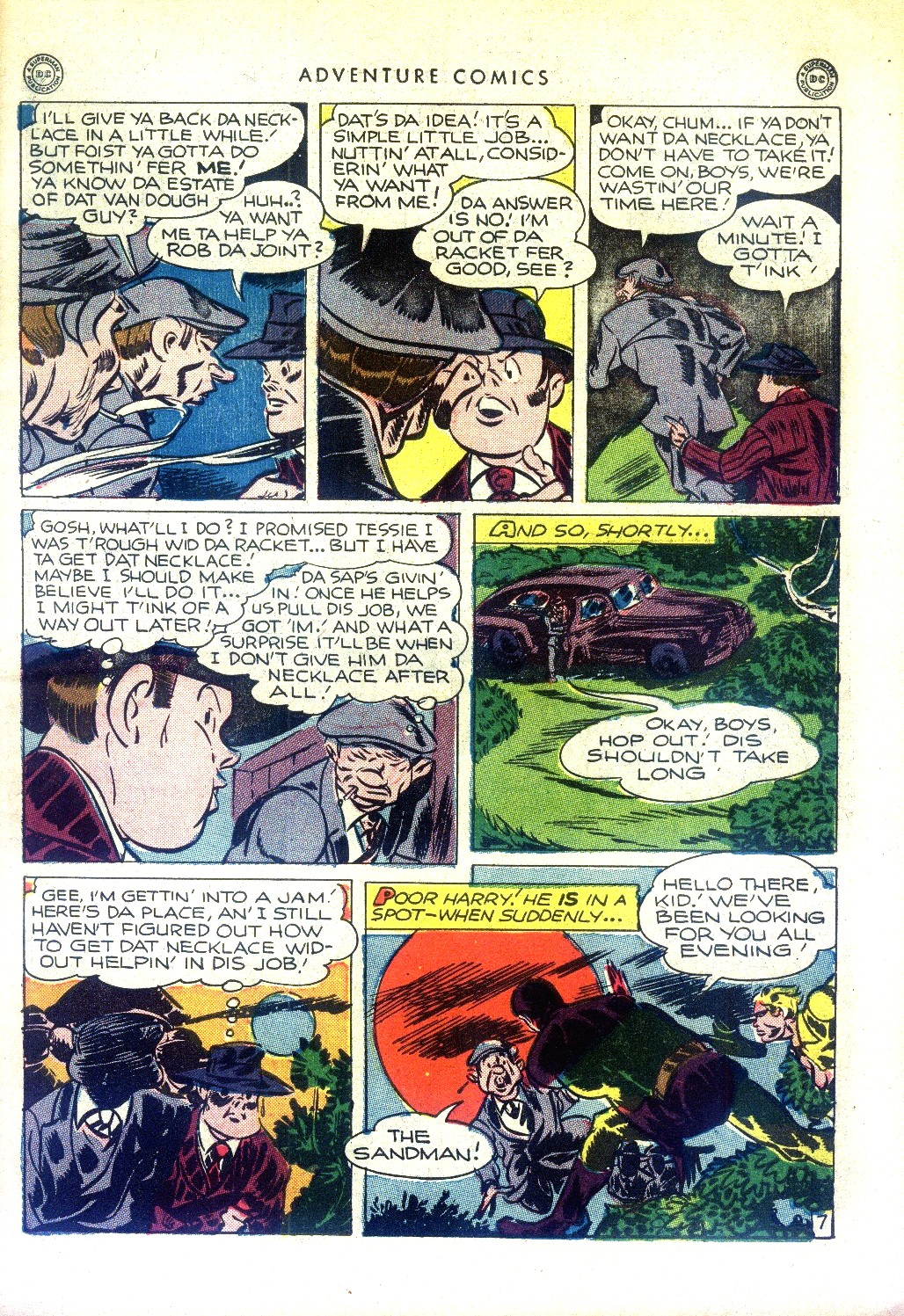 Read online Adventure Comics (1938) comic -  Issue #97 - 9