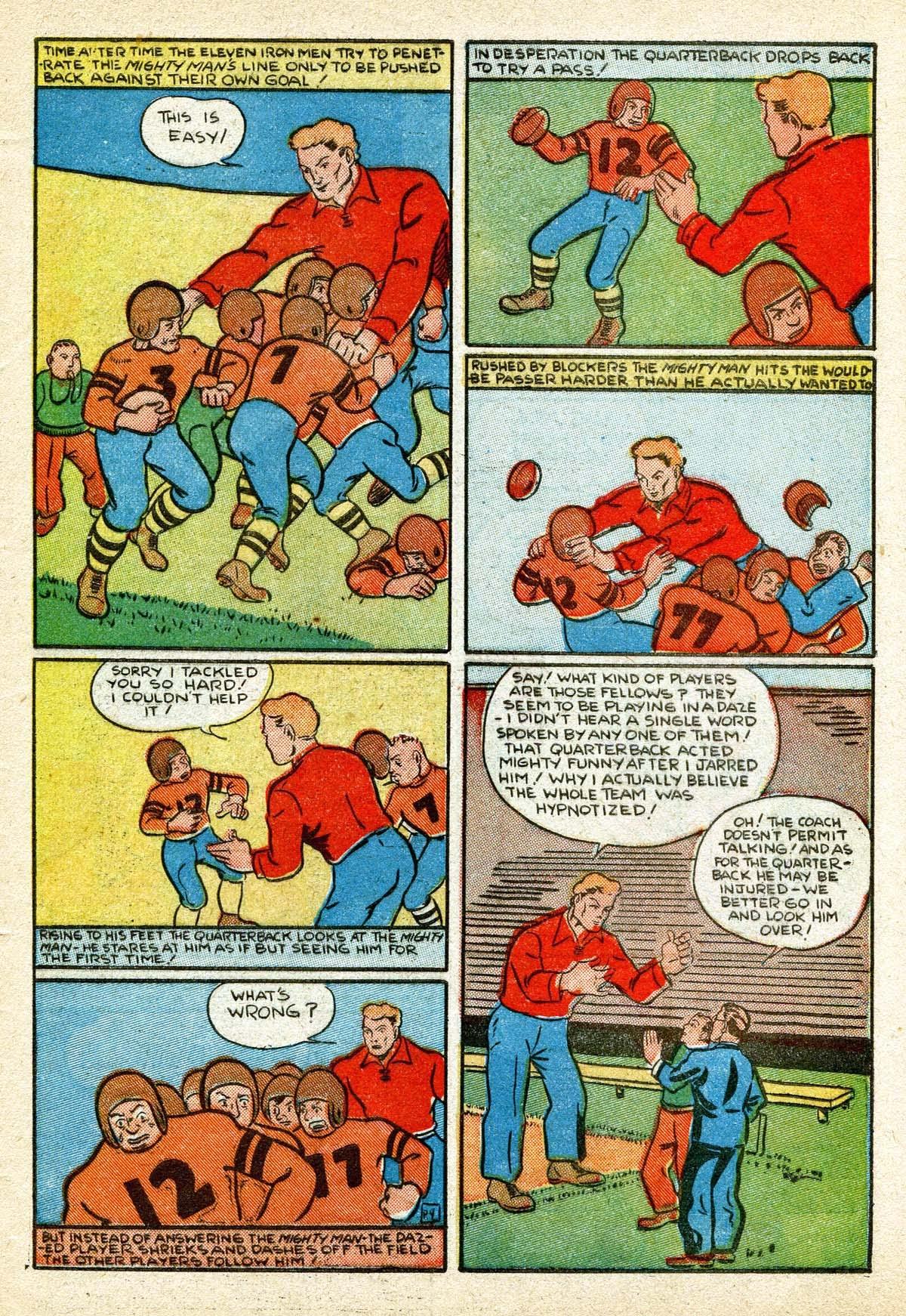 Read online Amazing Man Comics comic -  Issue #8 - 55