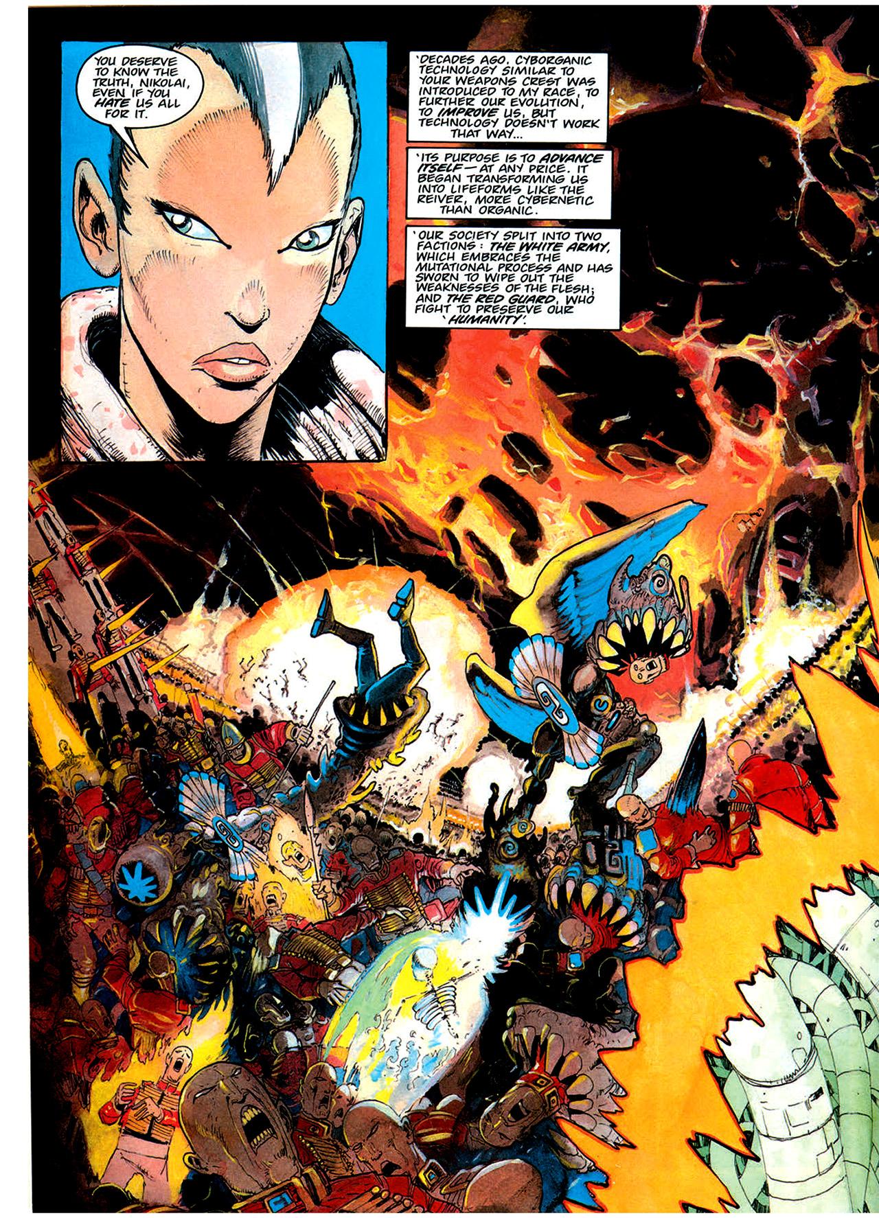 Read online Nikolai Dante comic -  Issue # TPB 1 - 168