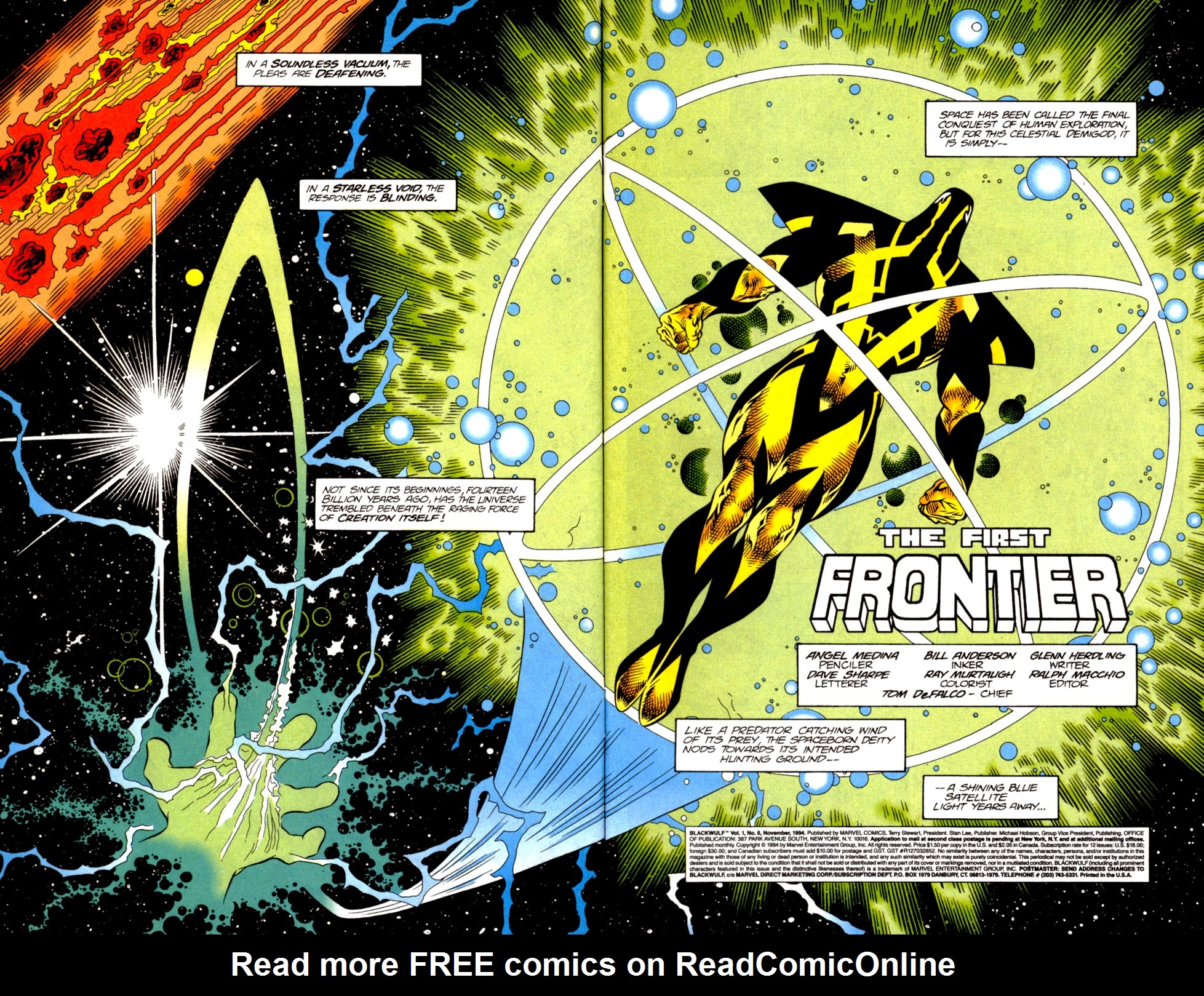 Read online Blackwulf comic -  Issue #6 - 3