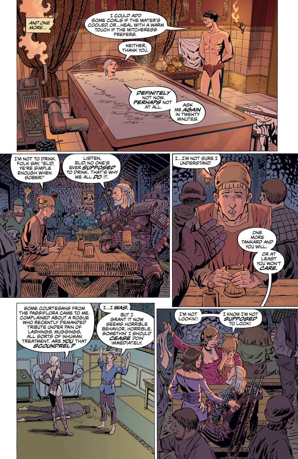 Read online The Witcher Omnibus comic -  Issue # TPB (Part 4) - 43