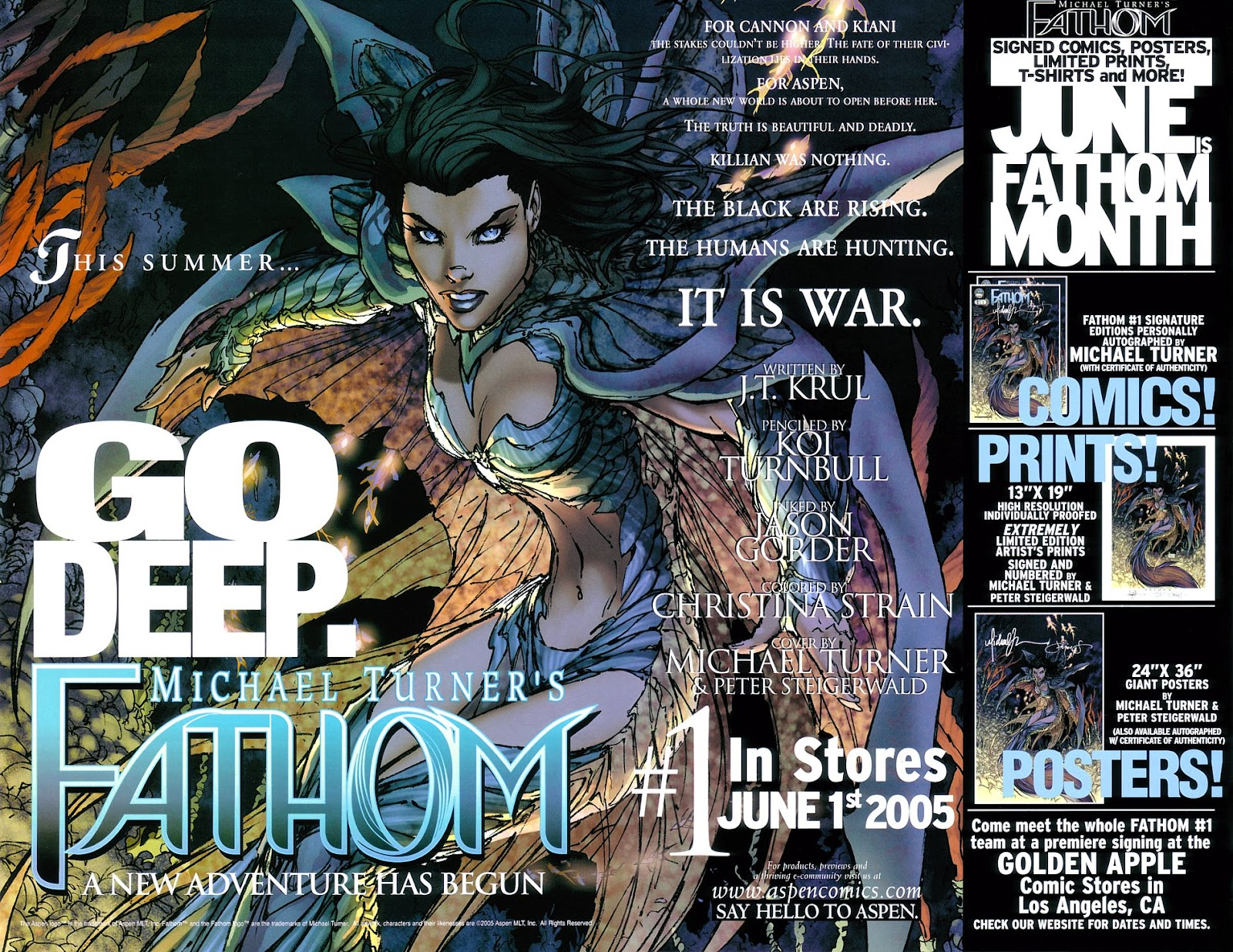 Read online Fathom Beginnings comic -  Issue # Full - 12