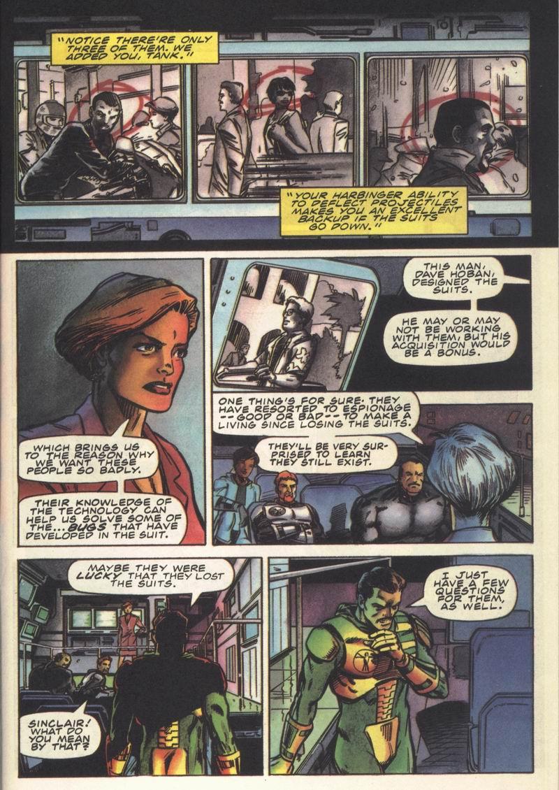 Read online Secret Weapons comic -  Issue #14 - 14