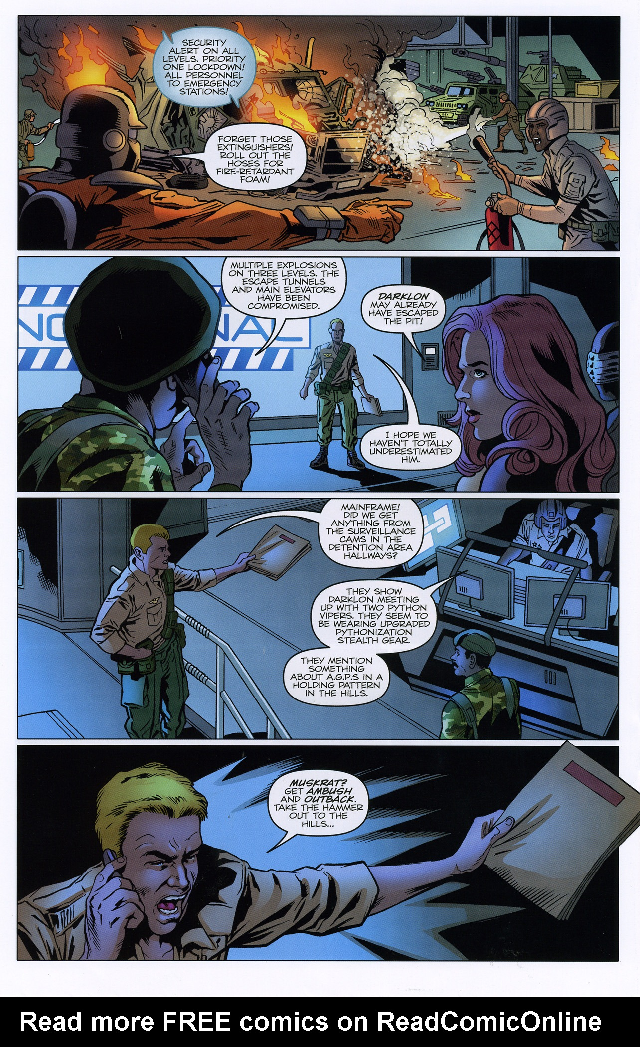 G.I. Joe: A Real American Hero 181 Page 20