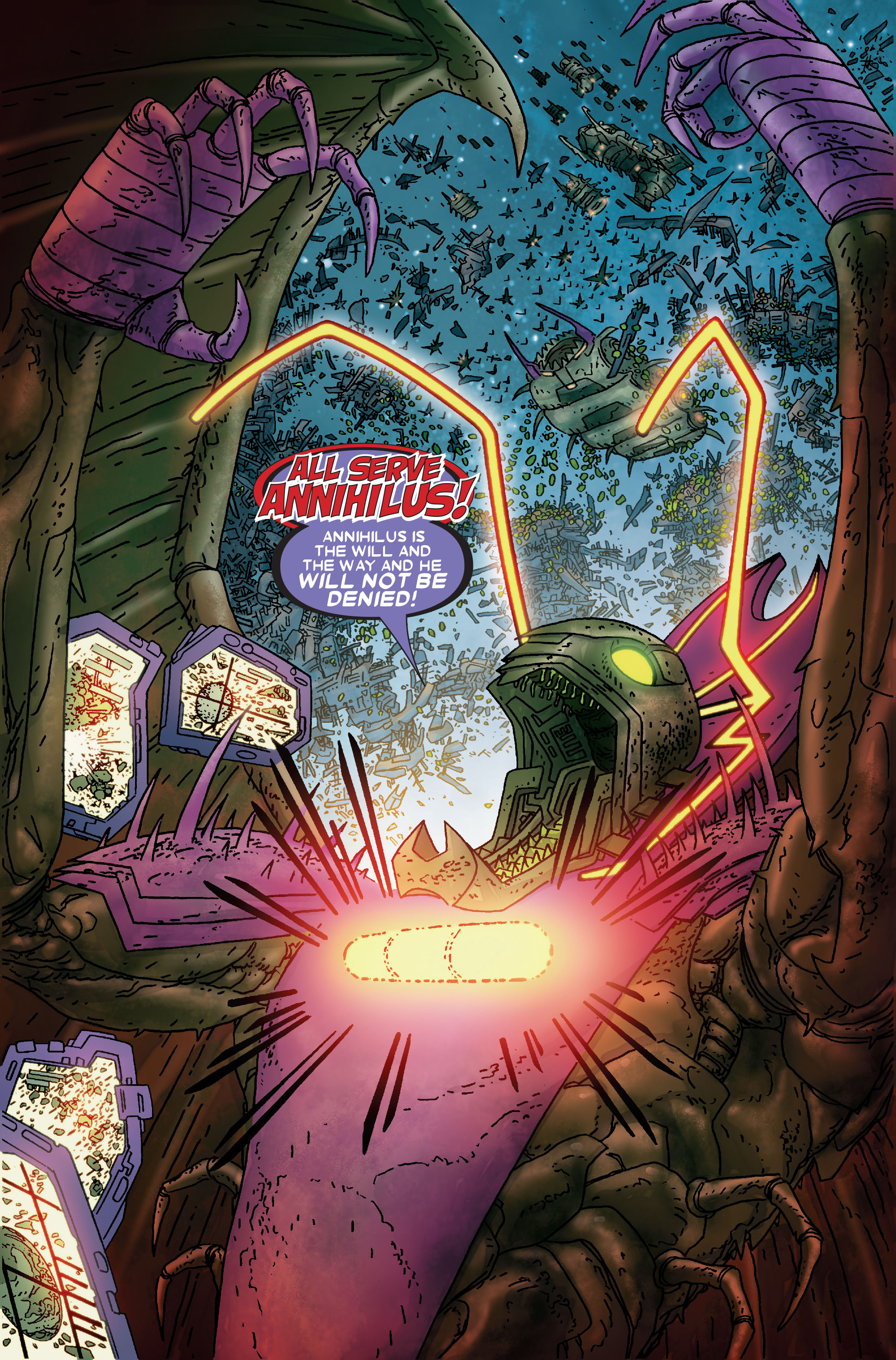Read online Annihilation: Prologue comic -  Issue #Annihilation: Prologue Full - 41