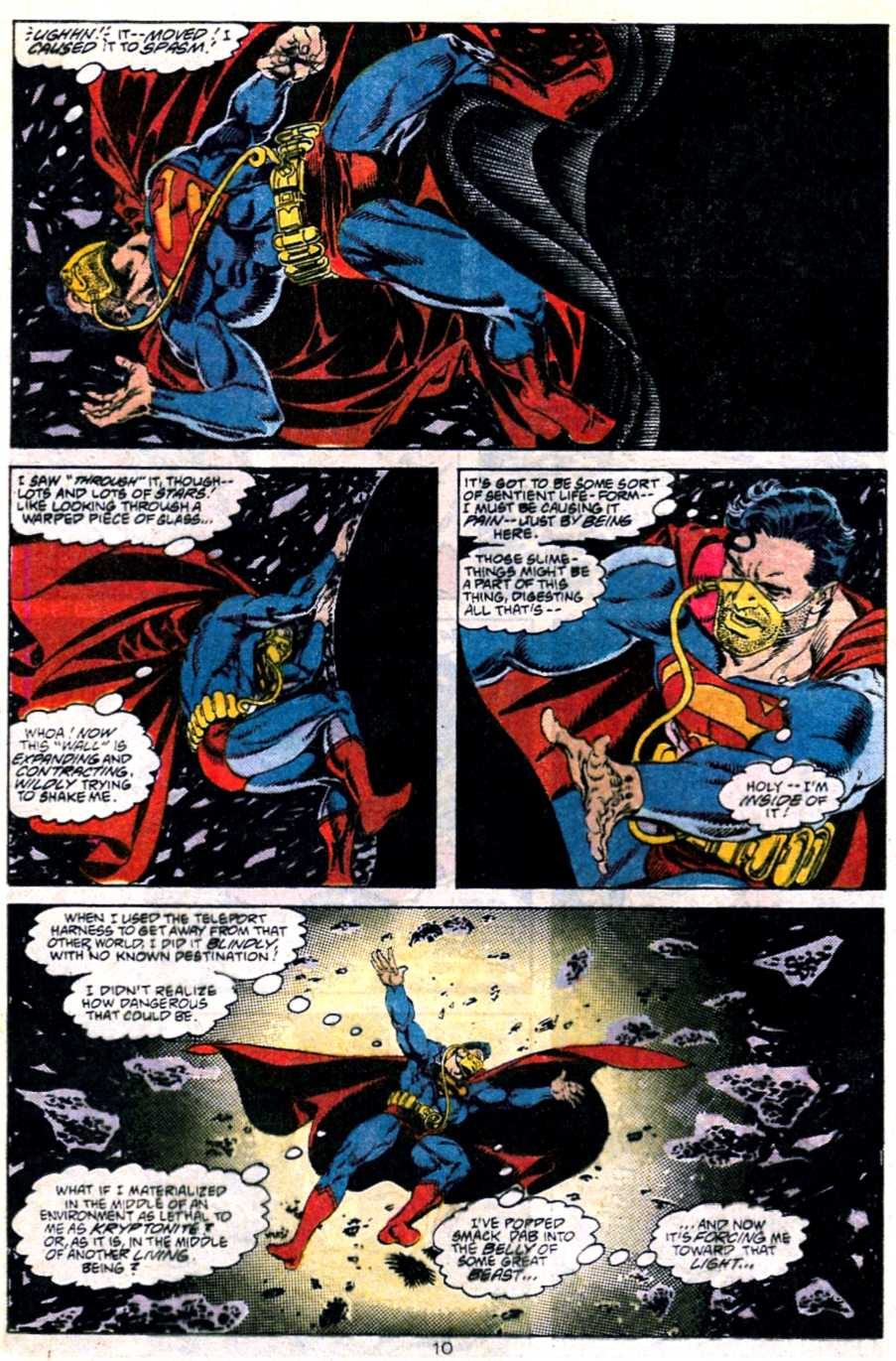 Read online Adventures of Superman (1987) comic -  Issue #451 - 11