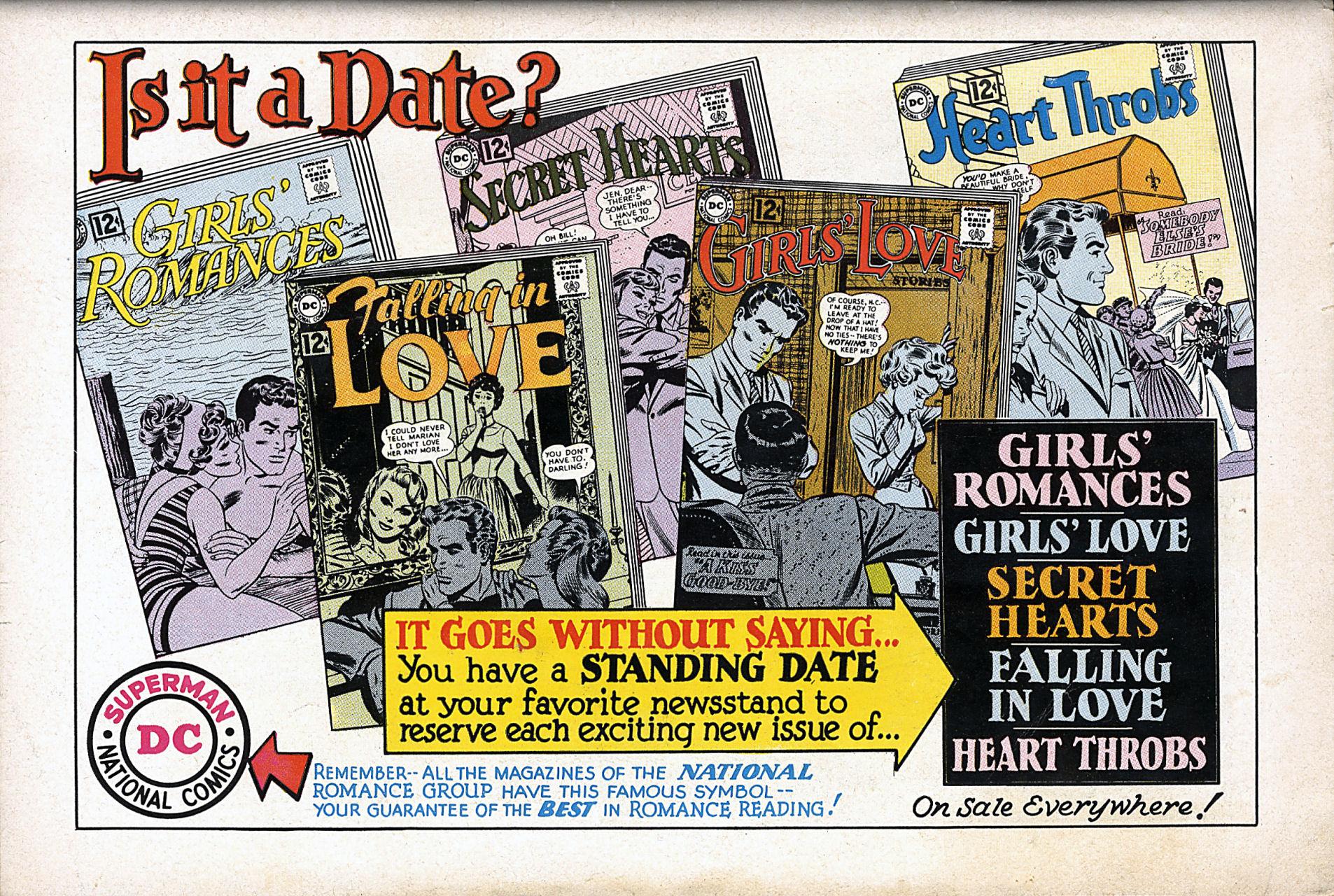 Read online Secret Hearts comic -  Issue #80 - 36