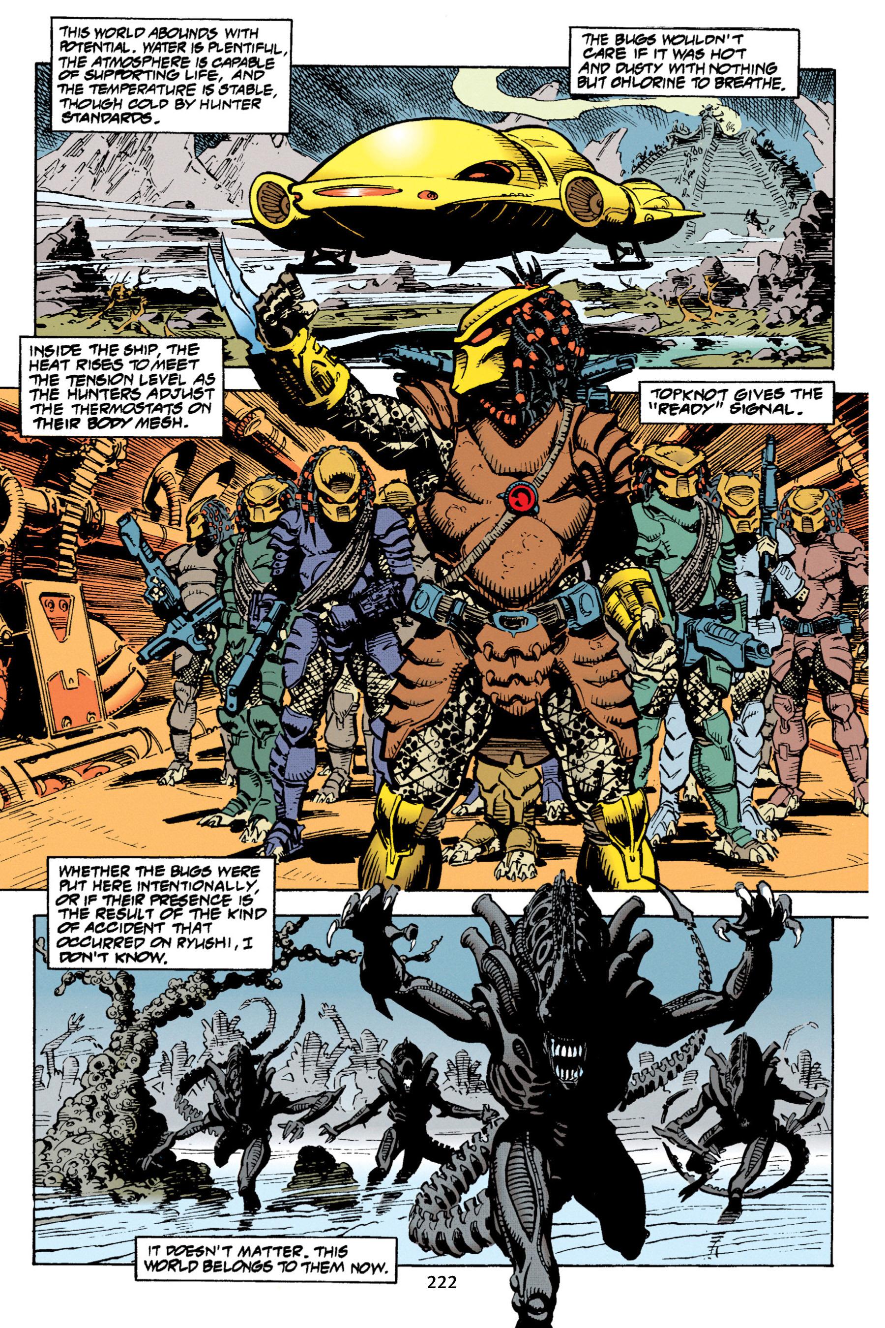 Read online Aliens vs. Predator Omnibus comic -  Issue # _TPB 1 Part 3 - 16