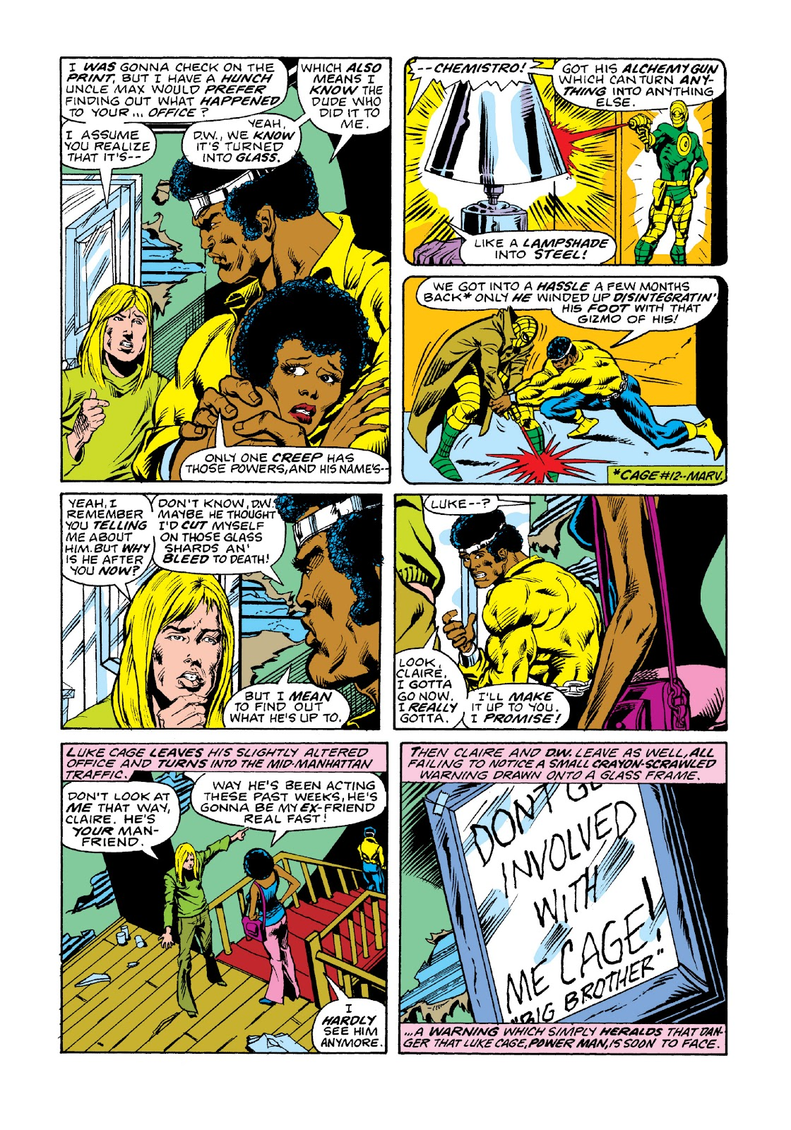 Read online Marvel Masterworks: Luke Cage, Power Man comic -  Issue # TPB 3 (Part 2) - 21