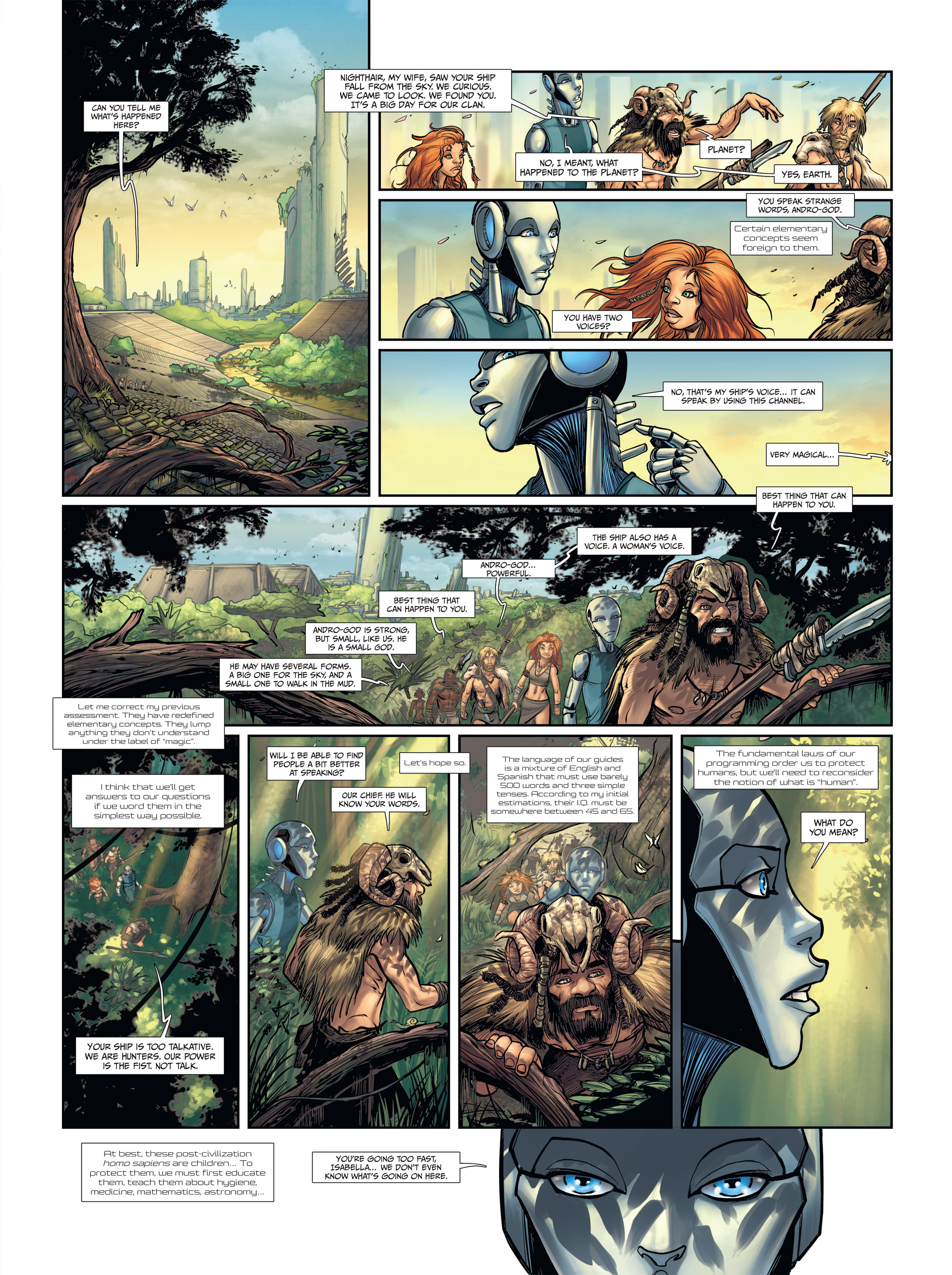 Read online Androïds comic -  Issue #2 - 19